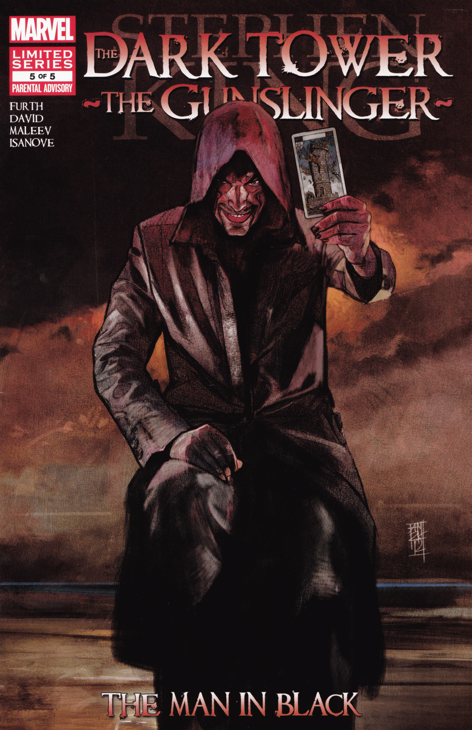 Read online Dark Tower: The Gunslinger - The Man in Black comic -  Issue #5 - 1