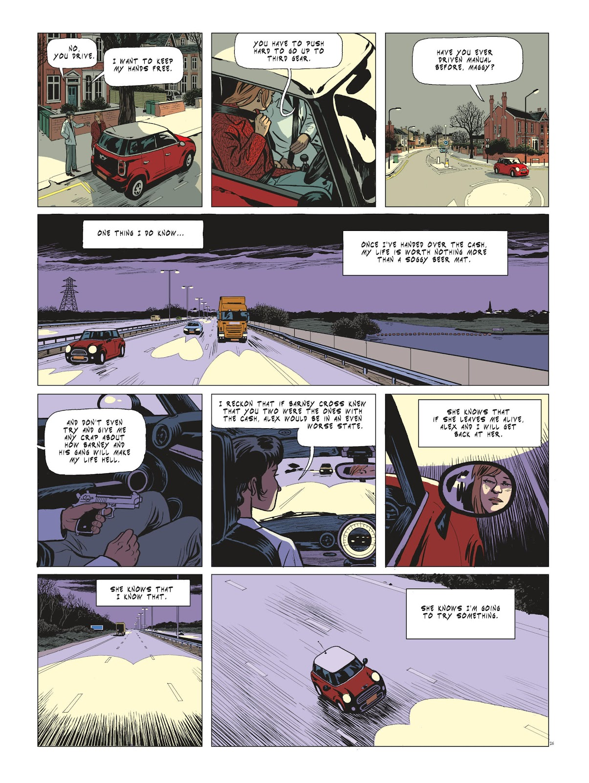 Read online Maggy Garrisson comic -  Issue #3 - 28