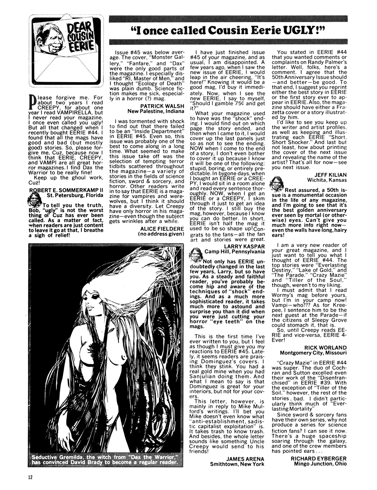 Read online Eerie Archives comic -  Issue # TPB 10 - 13