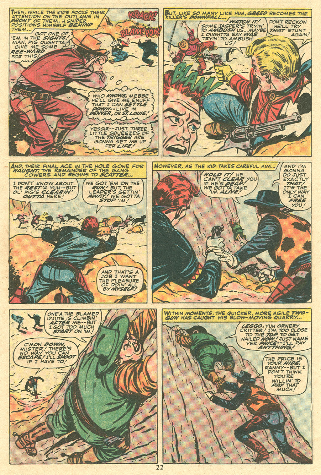 Read online Two-Gun Kid comic -  Issue #117 - 23