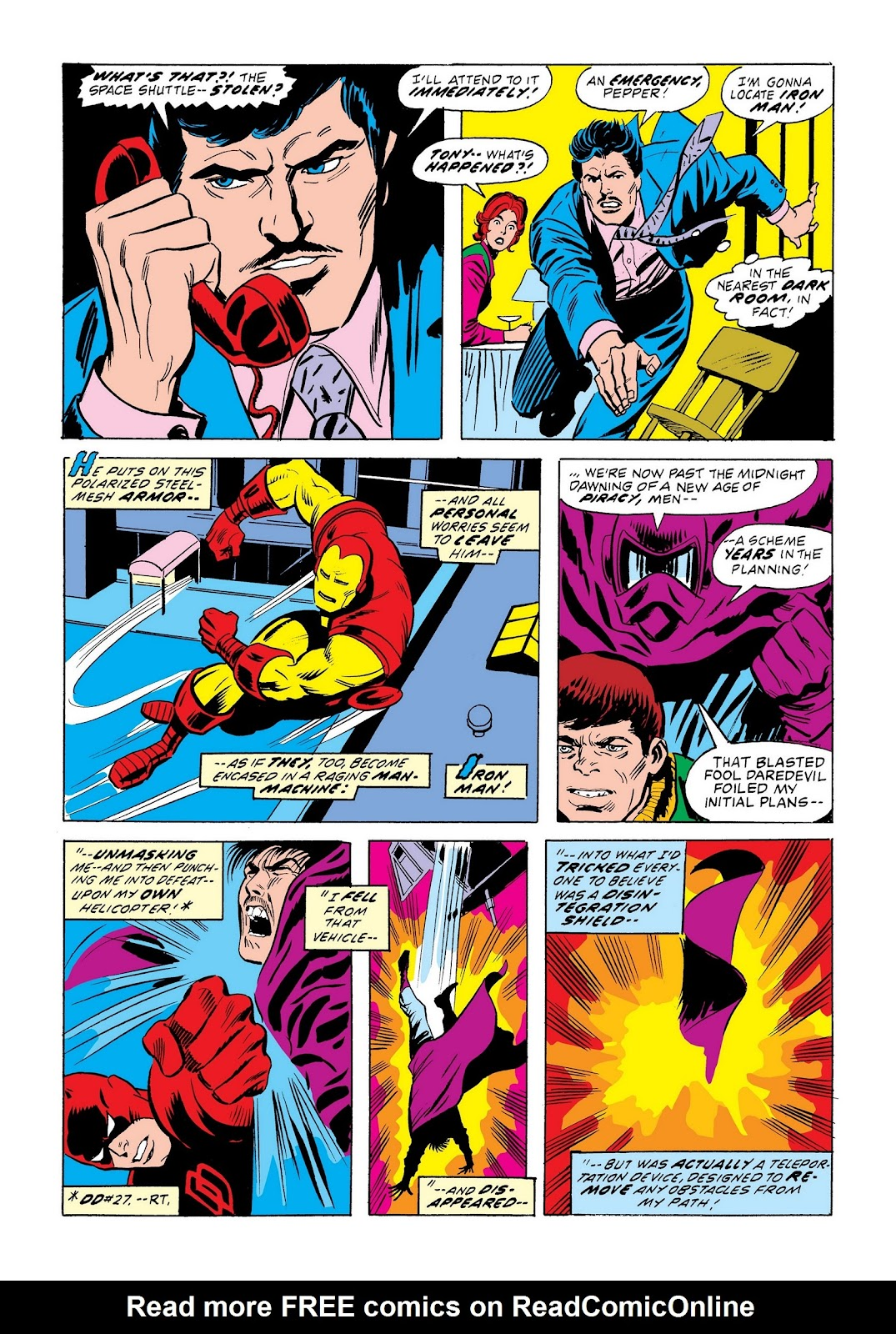 Read online Marvel Masterworks: The Invincible Iron Man comic -  Issue # TPB 9 (Part 2) - 43