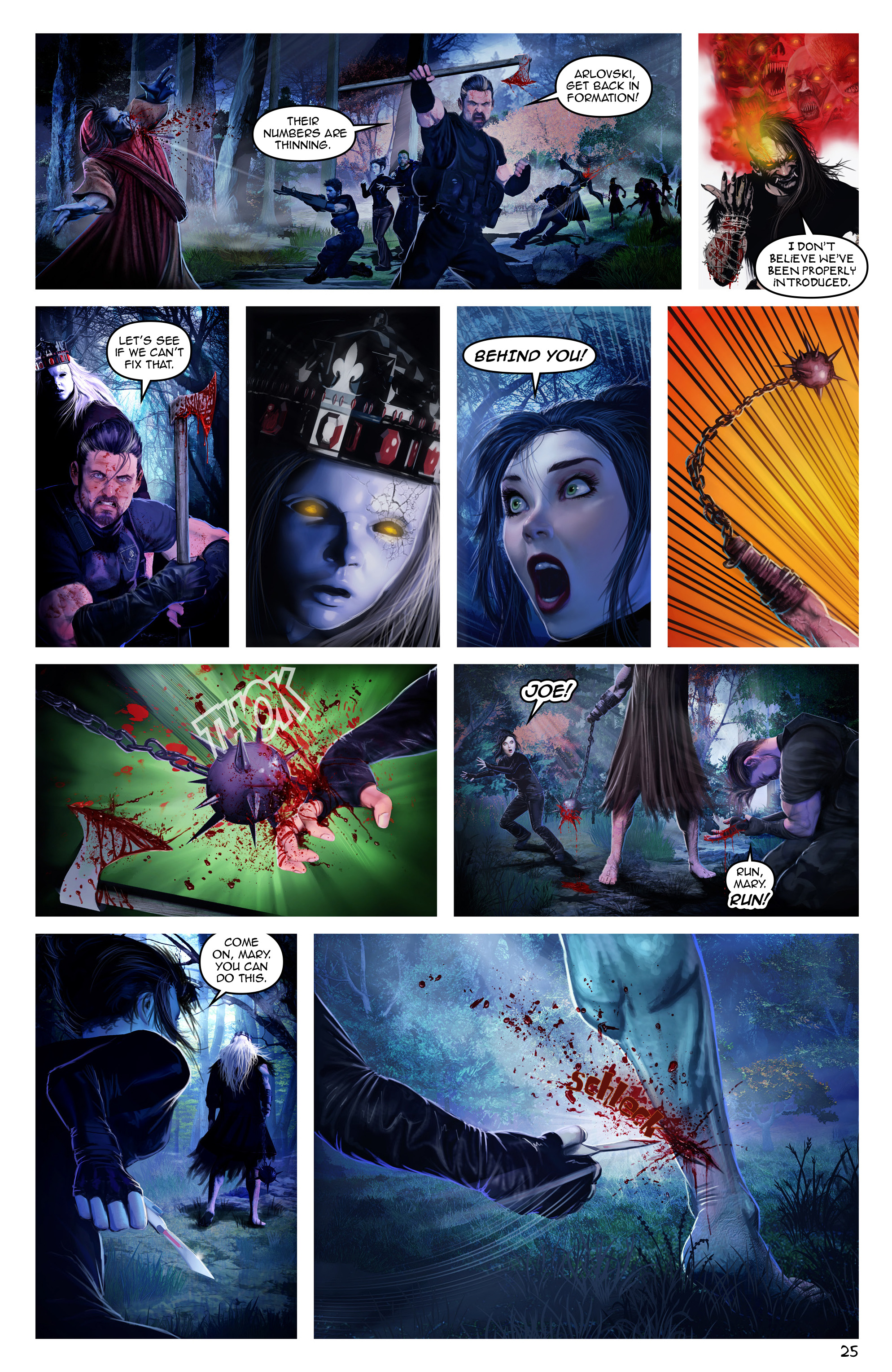 Read online Escape from Jesus Island comic -  Issue #3 - 25