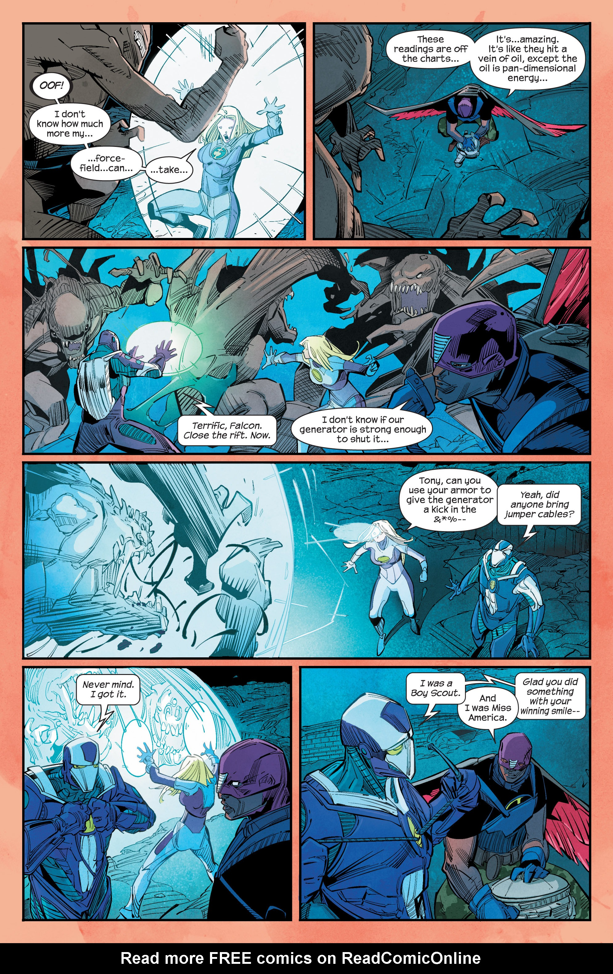 Read online Ultimate FF comic -  Issue #1 - 8