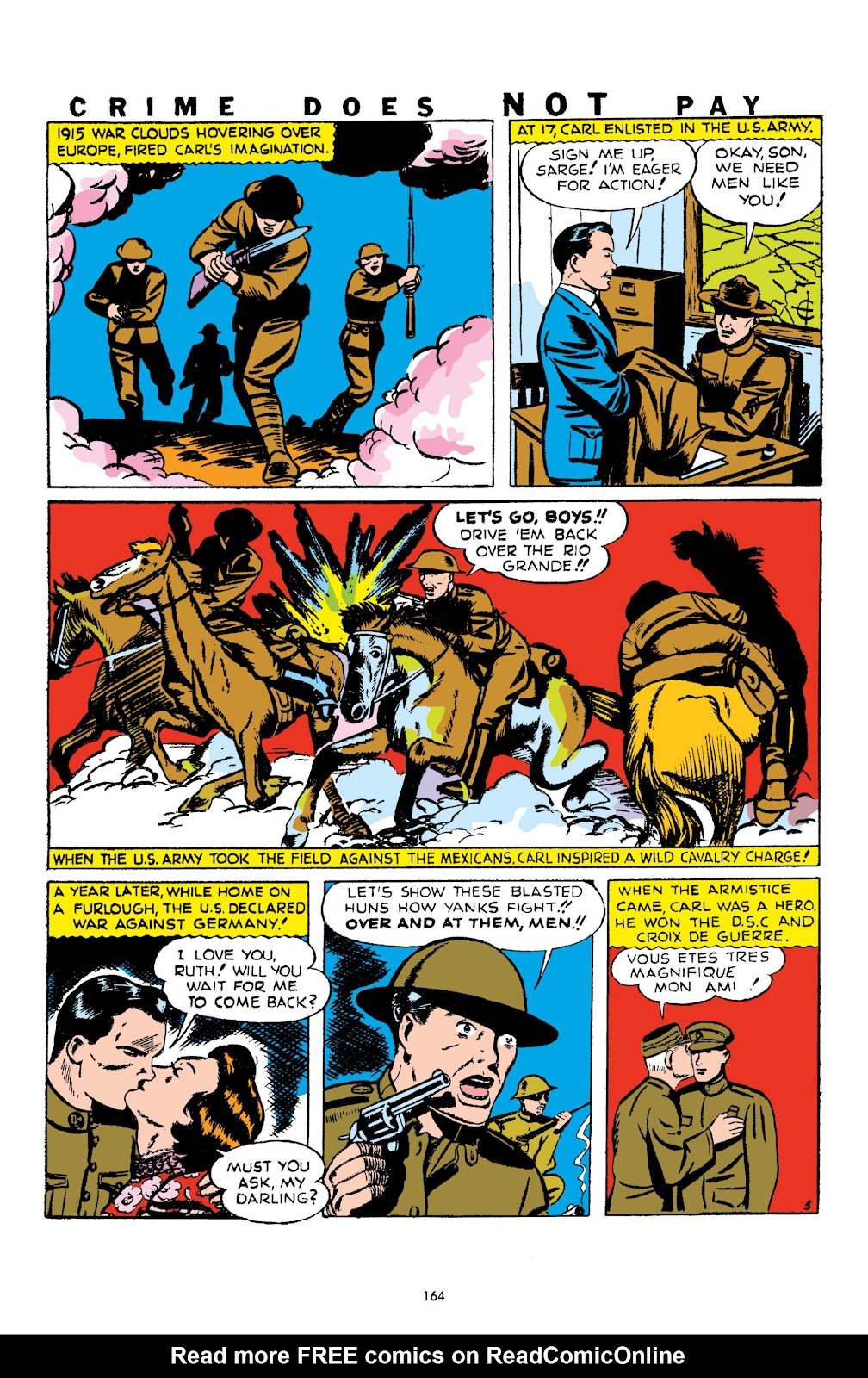 Read online Crime Does Not Pay Archives comic -  Issue # TPB 1 (Part 2) - 67