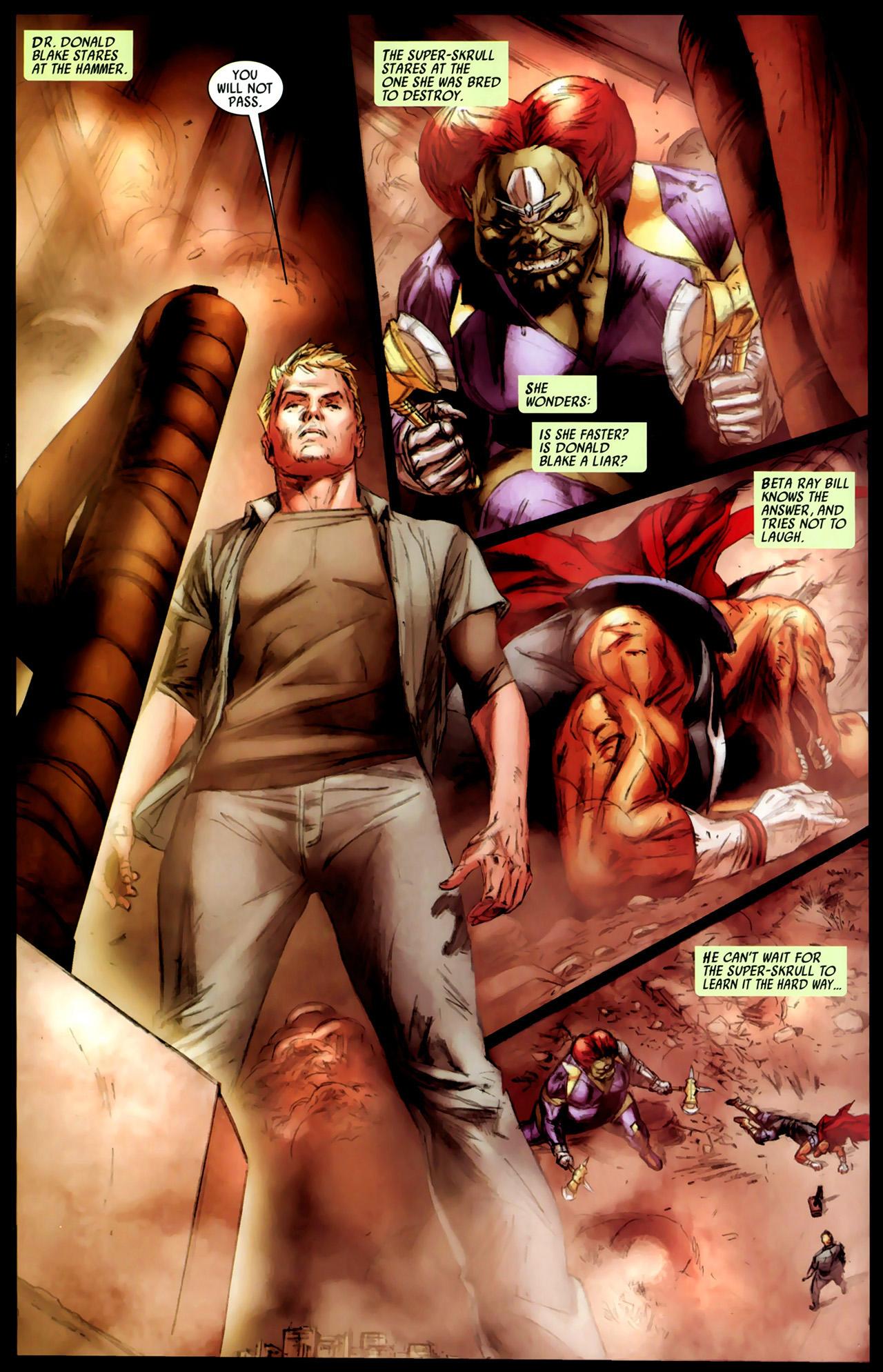 Read online Secret Invasion: Thor comic -  Issue #3 - 3