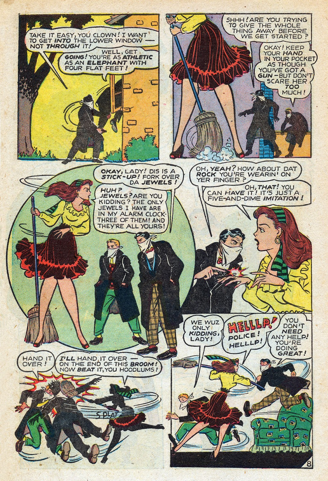 Read online Nellie The Nurse (1945) comic -  Issue #14 - 10