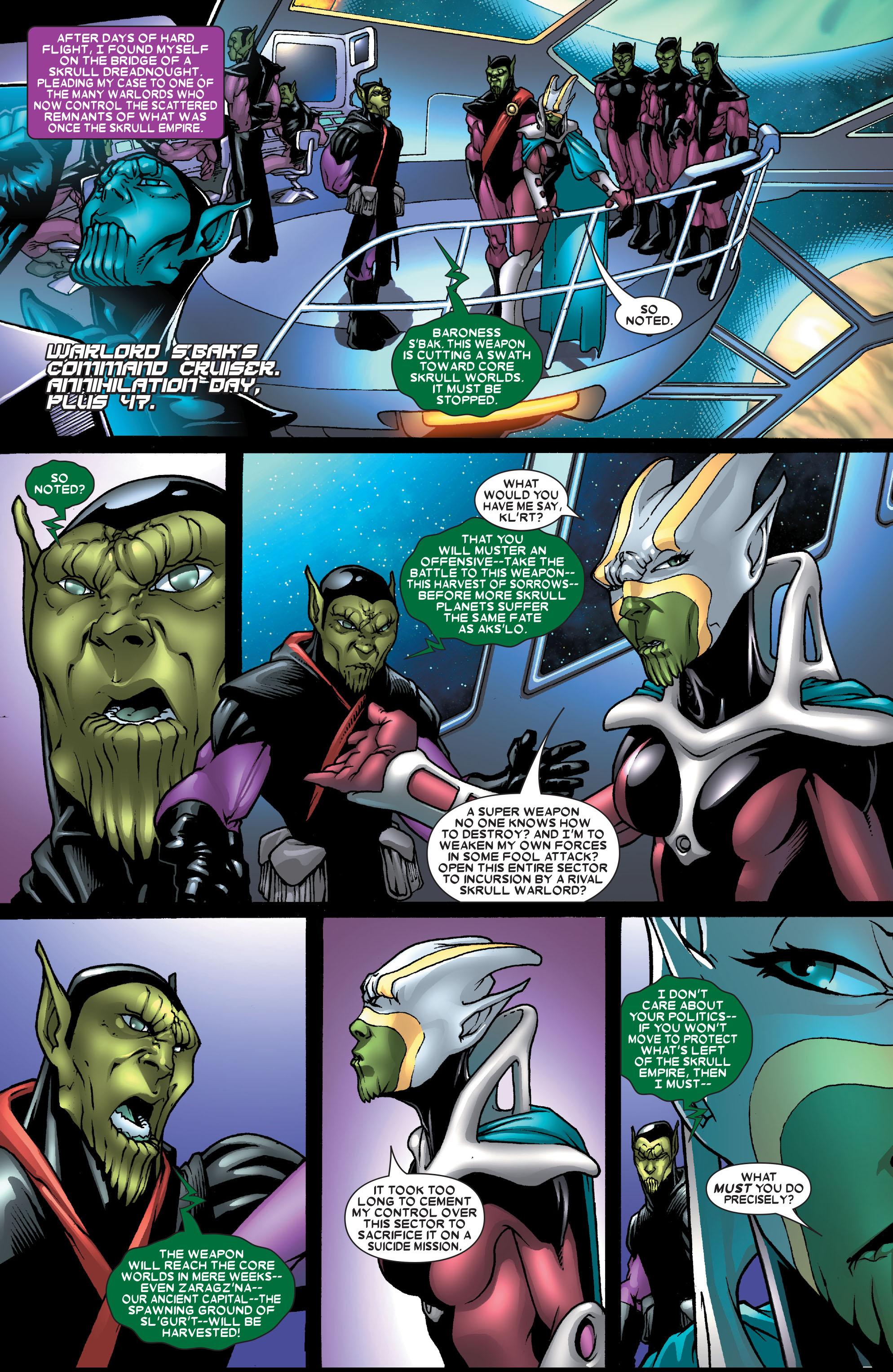 Read online Annihilation: Super-Skrull comic -  Issue #1 - 12