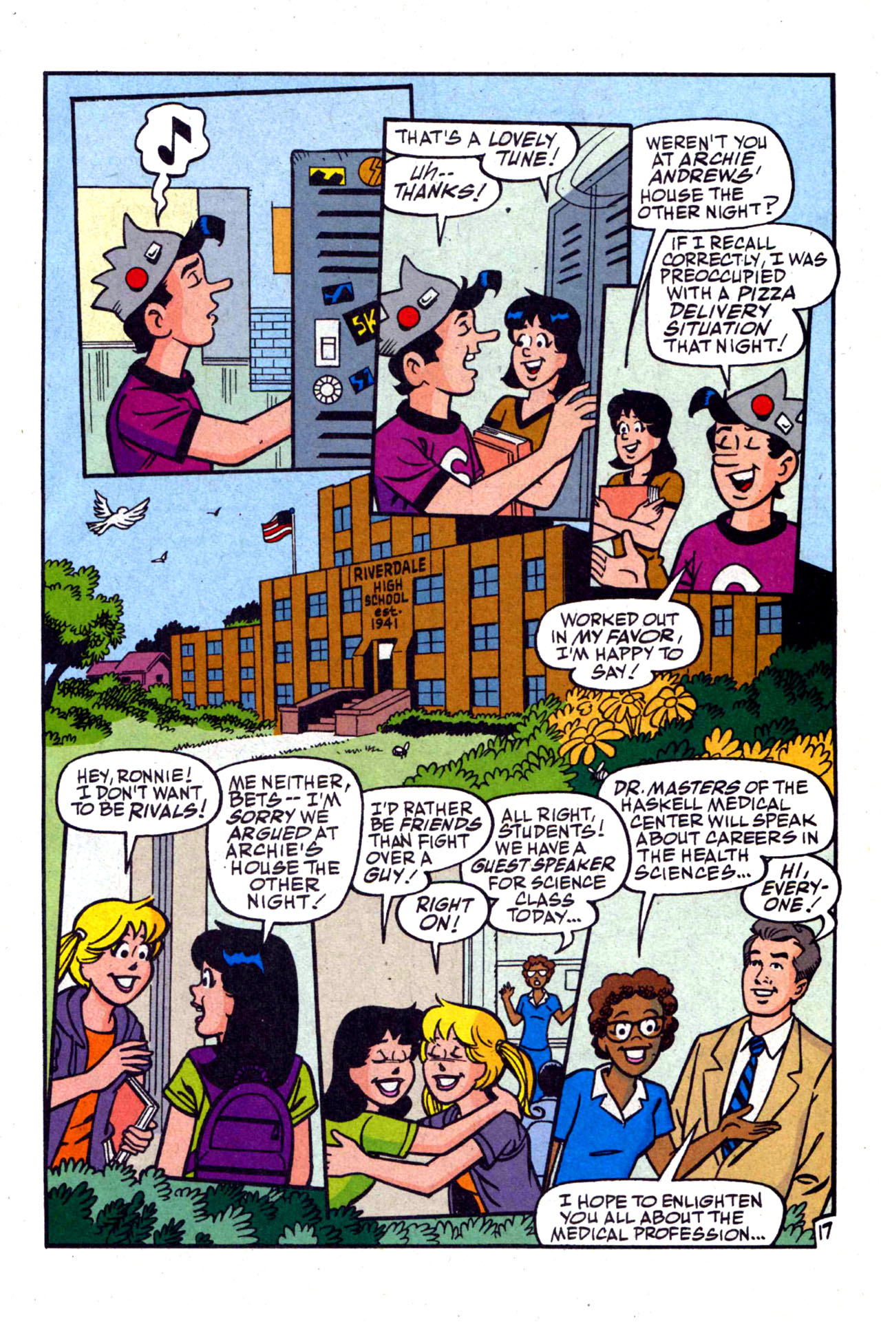 Read online Archie (1960) comic -  Issue #590 - 25