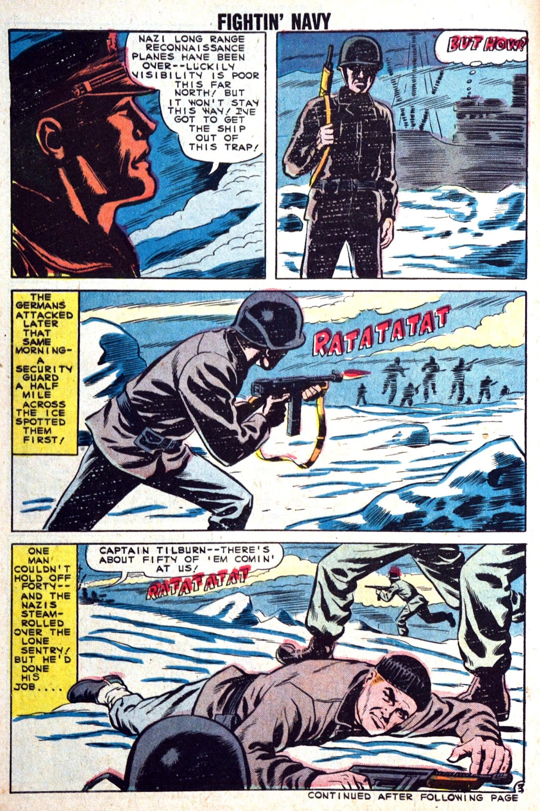 Read online Fightin' Navy comic -  Issue #89 - 30