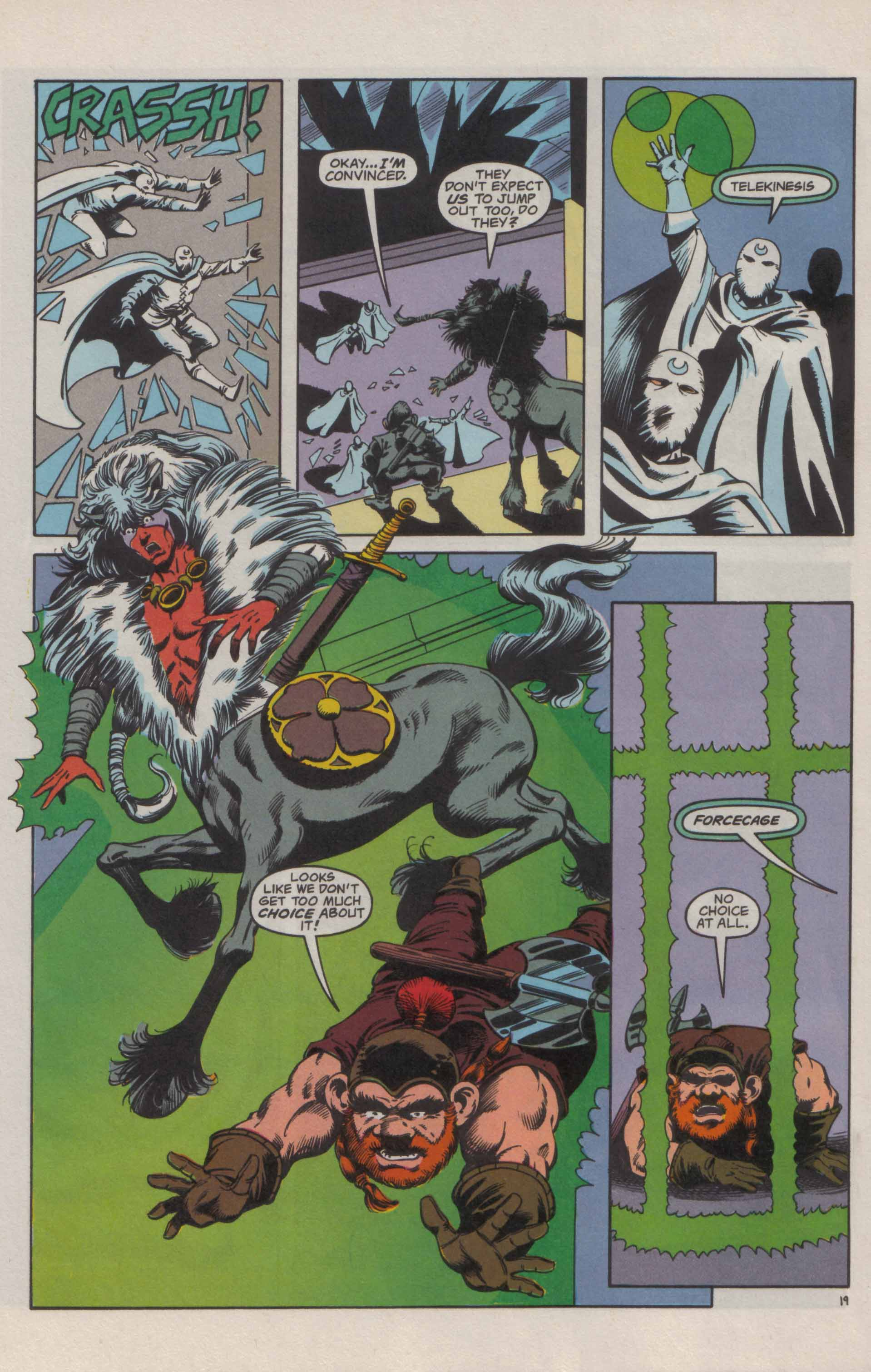 Read online Advanced Dungeons & Dragons comic -  Issue #21 - 20