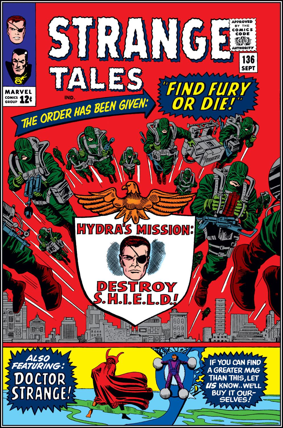 Strange Tales (1951) issue 136 - Page 1