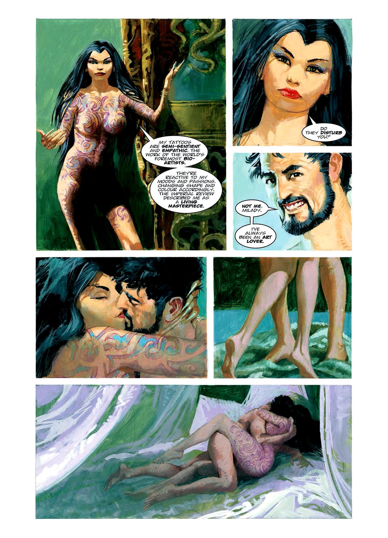 Read online Nikolai Dante comic -  Issue # TPB 6 - 110