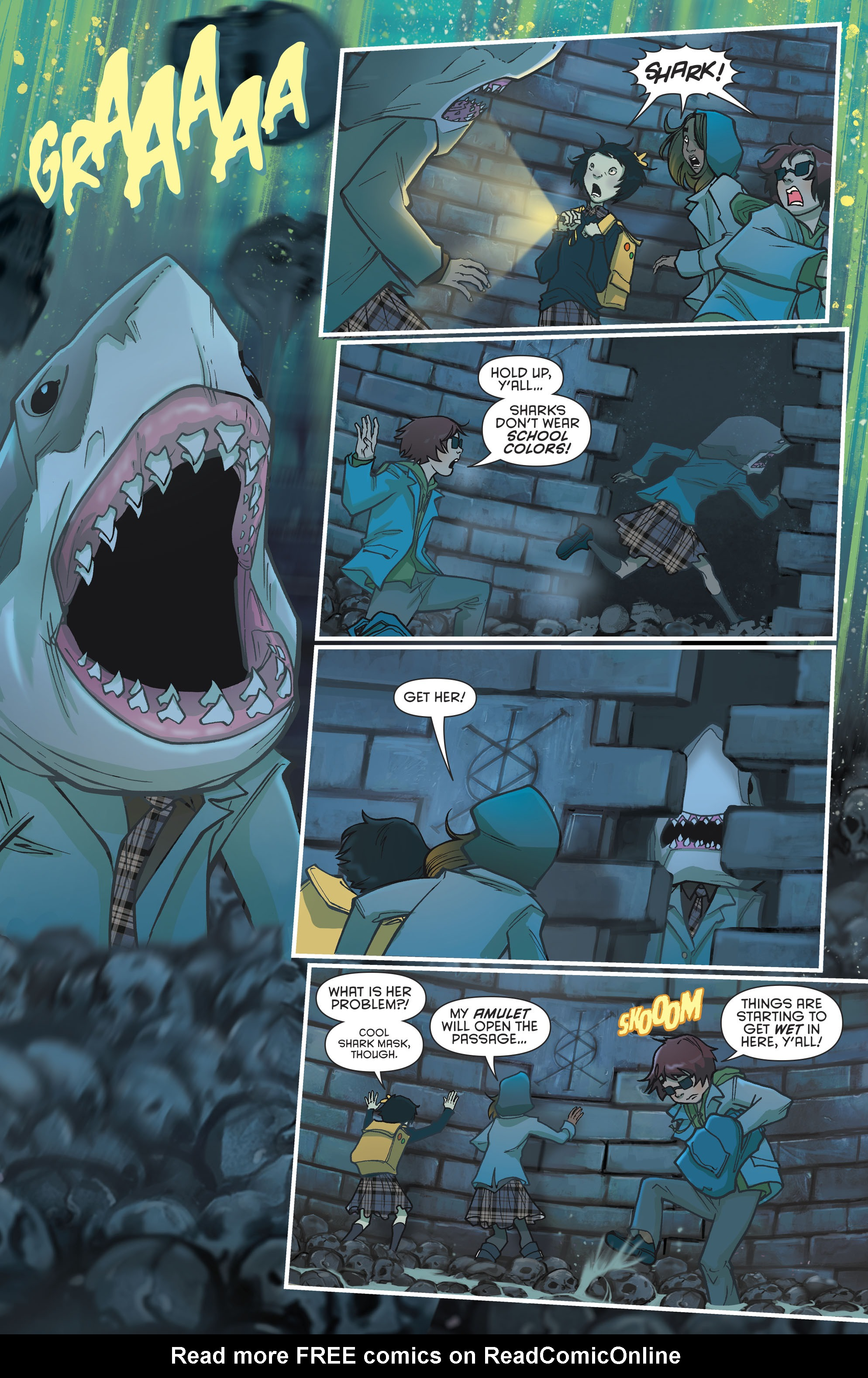 Read online Gotham Academy: Second Semester comic -  Issue #9 - 11