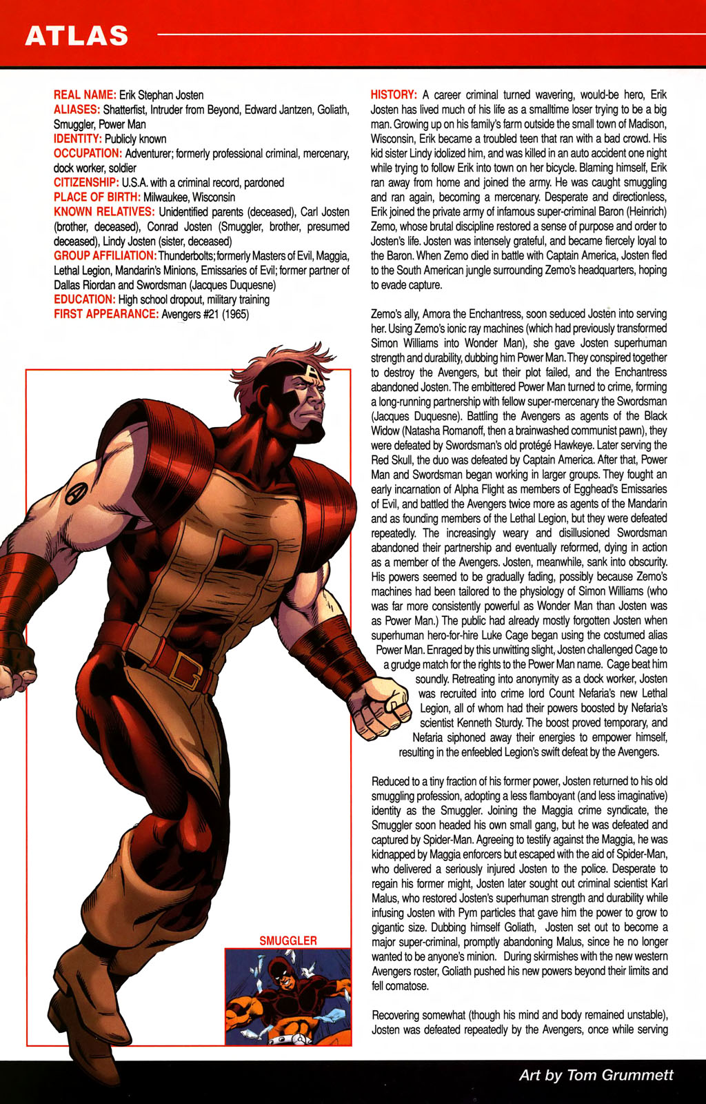 Read online All-New Official Handbook of the Marvel Universe A to Z comic -  Issue #1 - 36