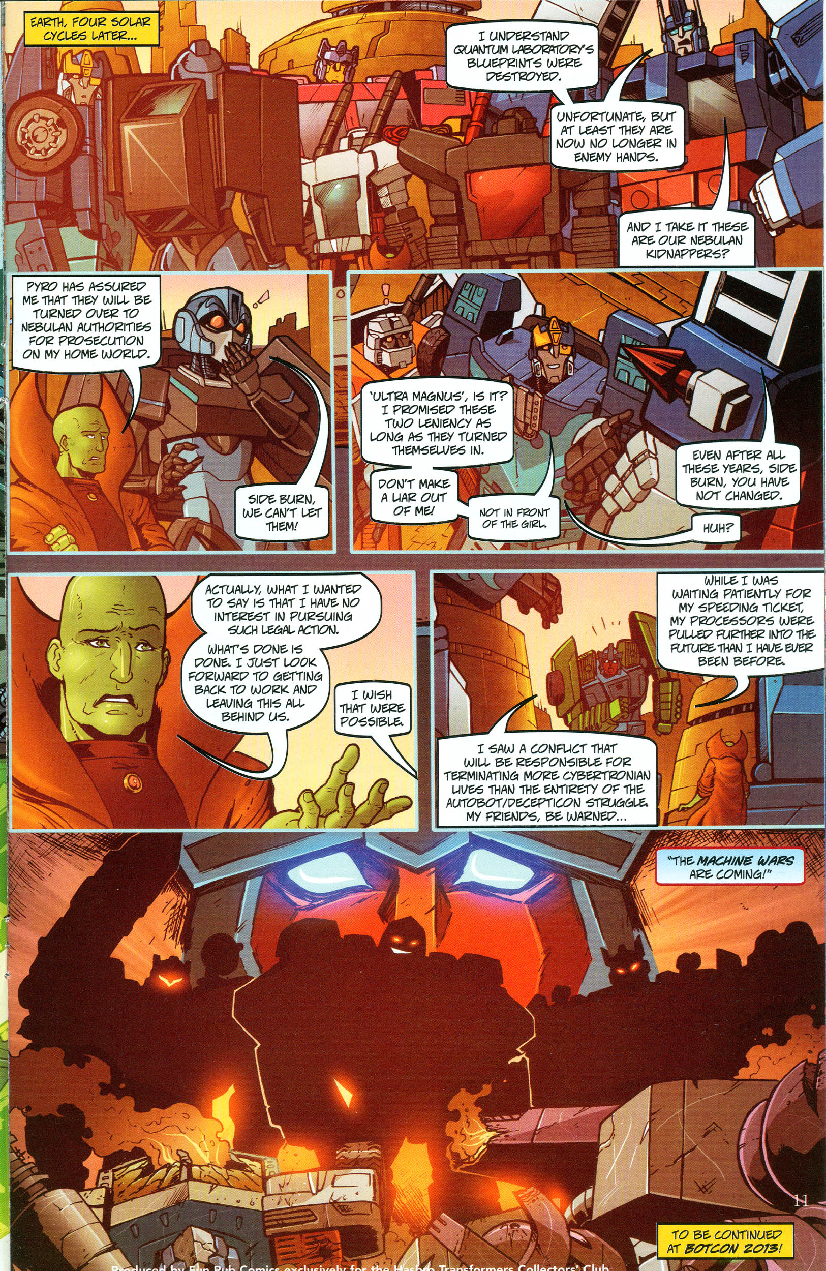 Read online Transformers: Collectors' Club comic -  Issue #48 - 11