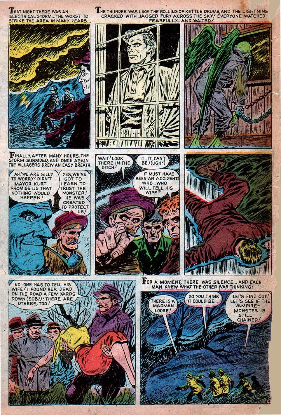 Read online Adventures into Weird Worlds comic -  Issue #15 - 5
