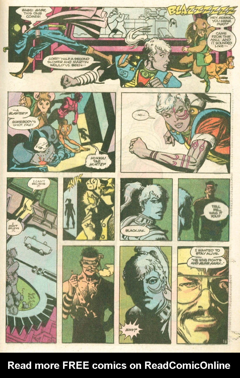 Read online Atari Force (1984) comic -  Issue #11 - 17