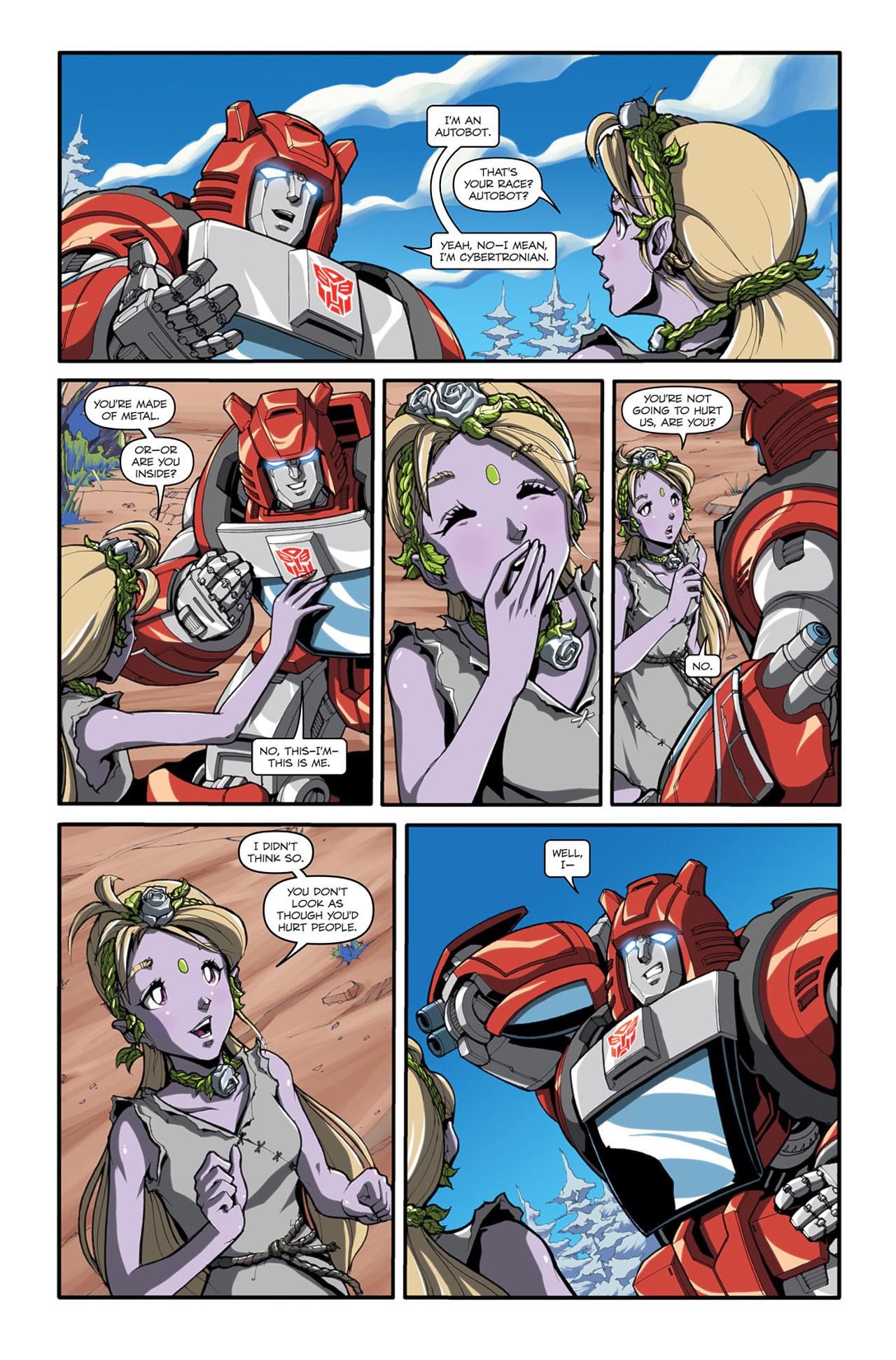 Read online Transformers Spotlight: Cliffjumper comic -  Issue # Full - 7