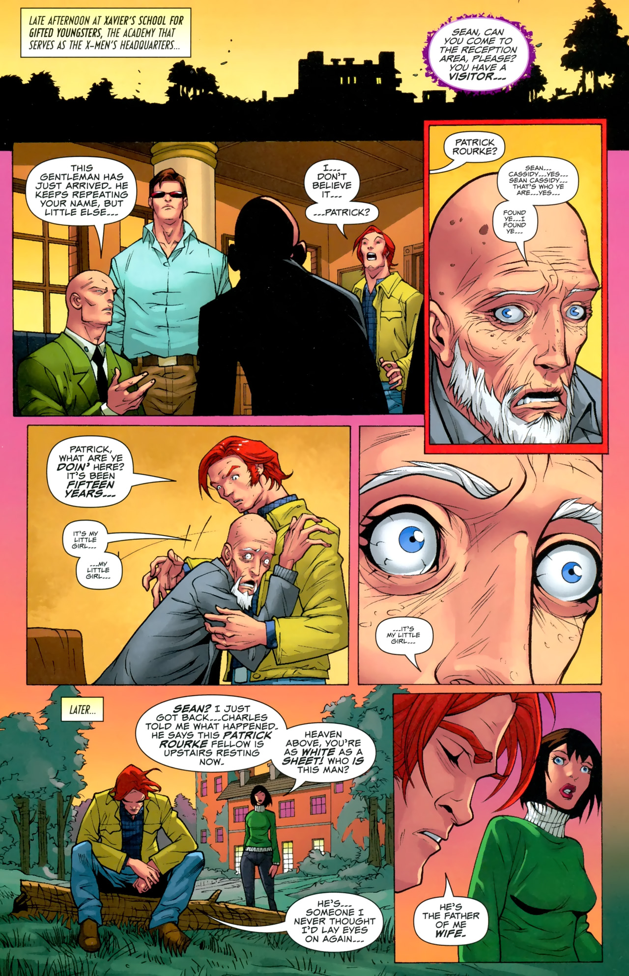 Read online Uncanny X-Men: First Class comic -  Issue #3 - 7