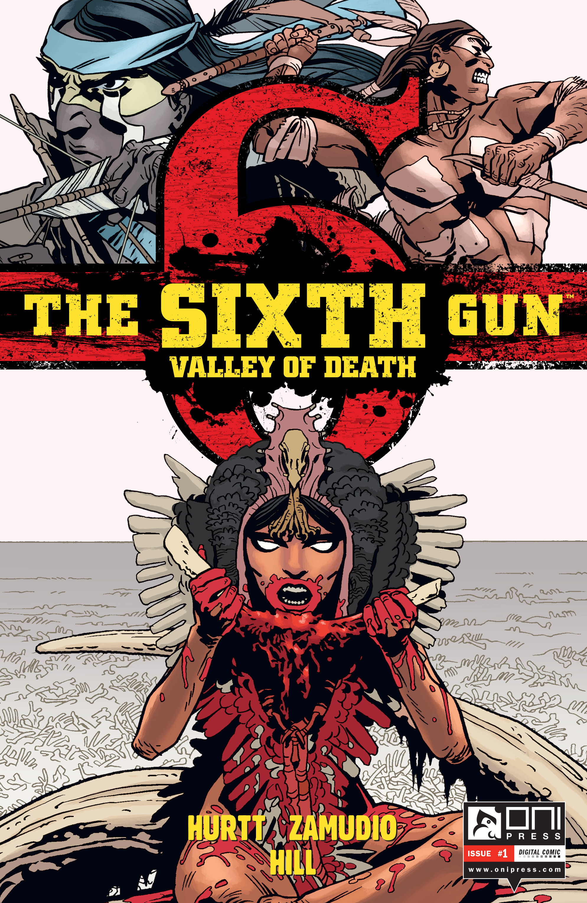 The Sixth Gun: Valley of Death 1 Page 1
