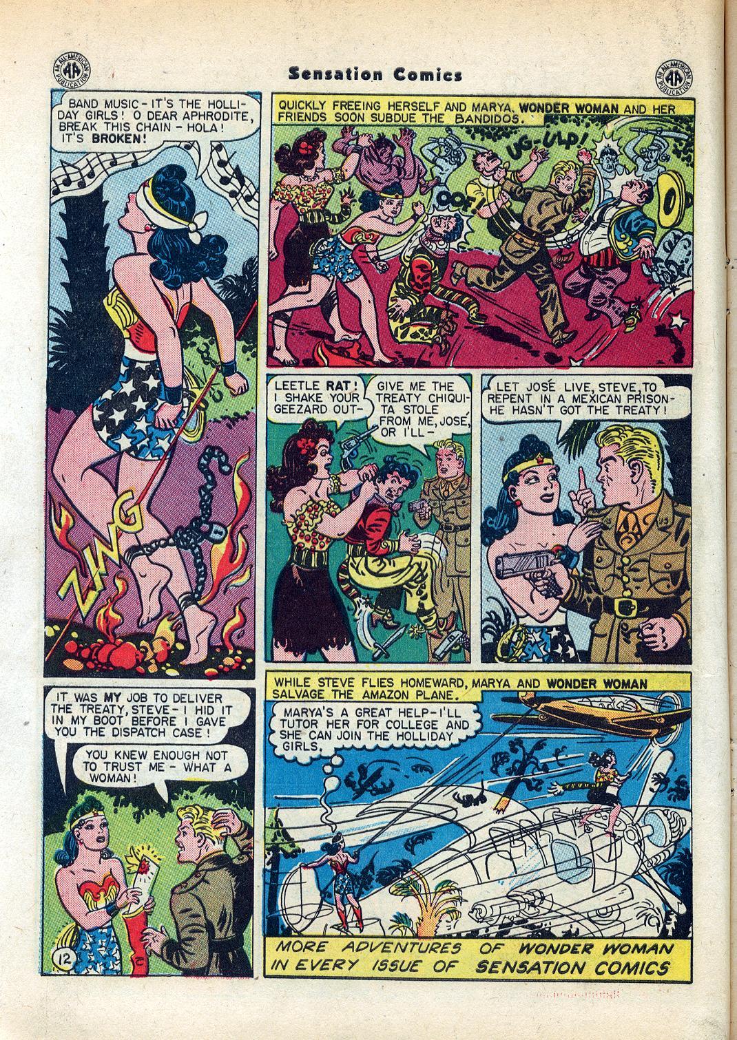 Read online Sensation (Mystery) Comics comic -  Issue #45 - 14