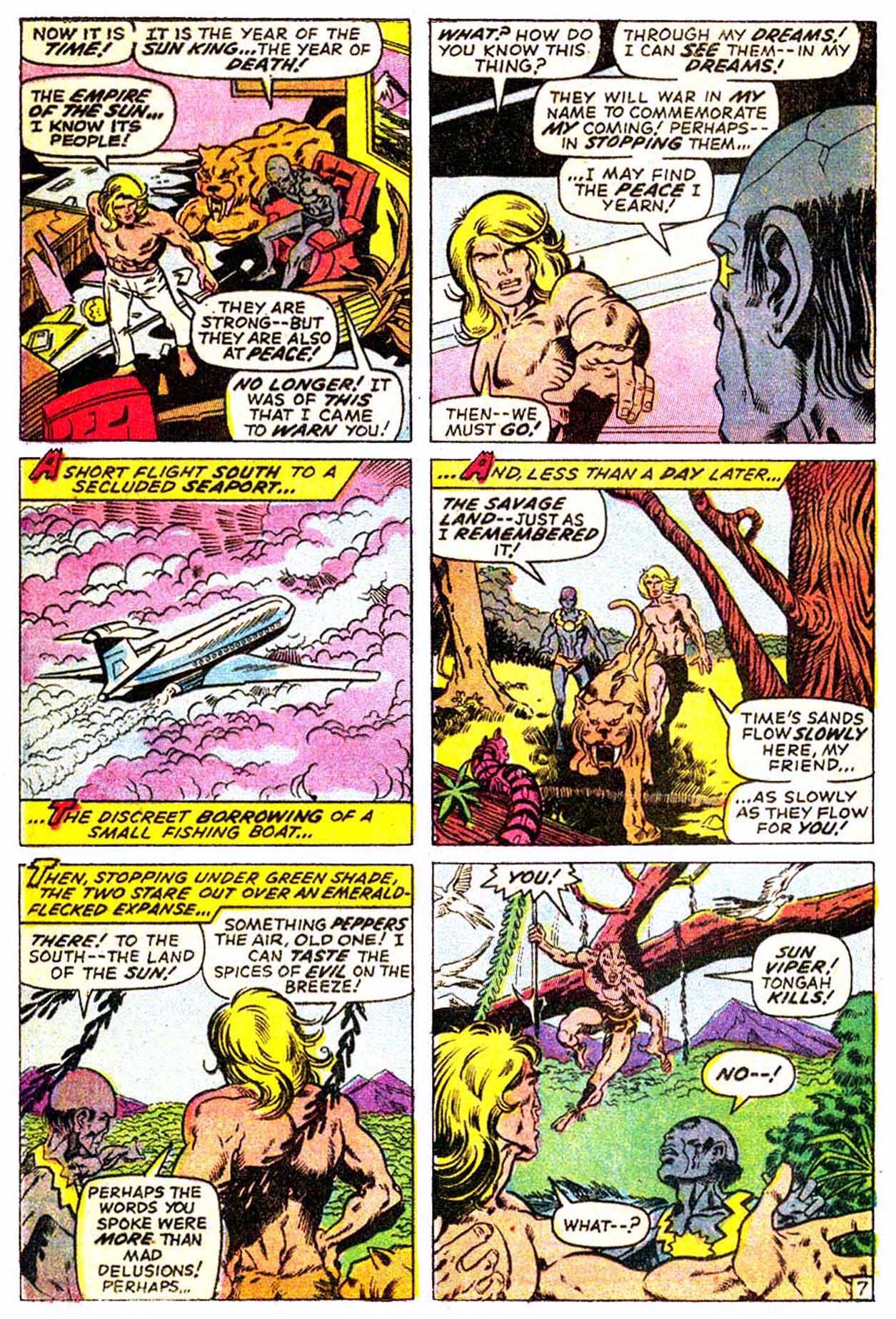 Read online Astonishing Tales (1970) comic -  Issue #3 - 18