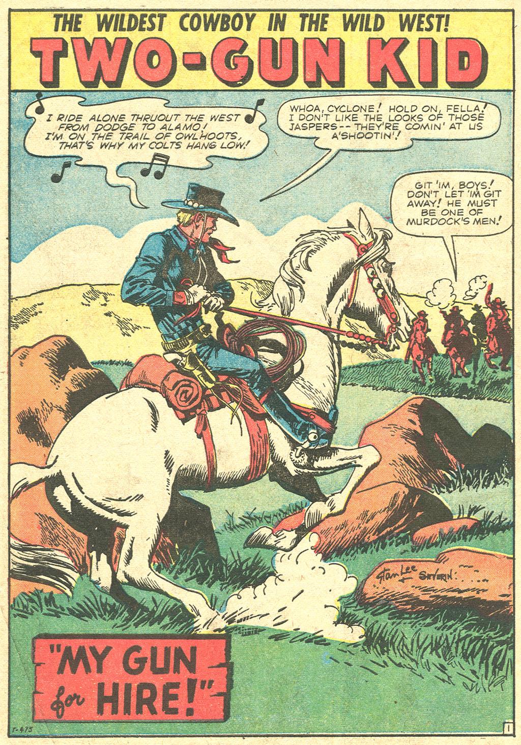 Read online Two-Gun Kid comic -  Issue #51 - 10