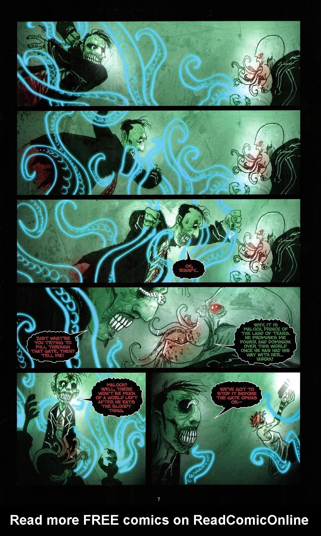 Read online Wormwood: Gentleman Corpse comic -  Issue #4 - 10