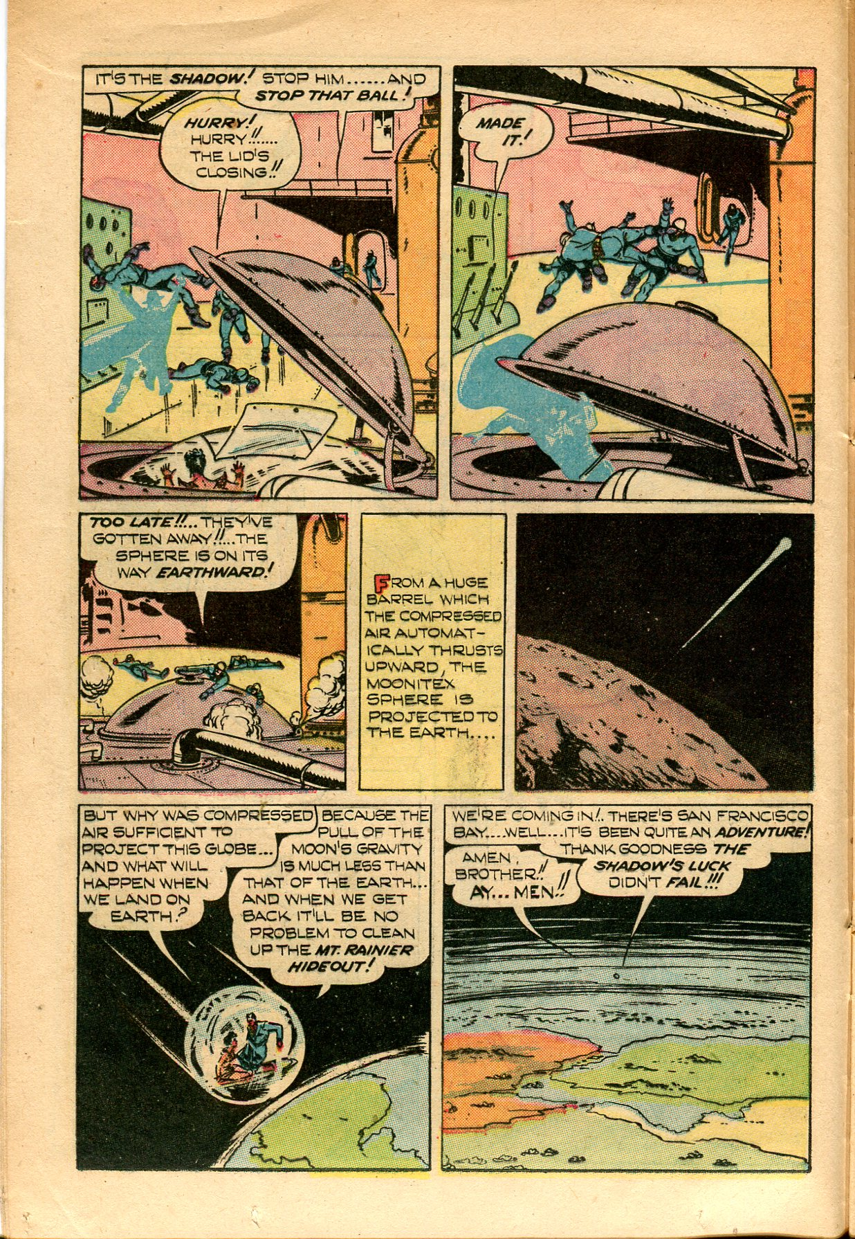 Read online Shadow Comics comic -  Issue #82 - 16
