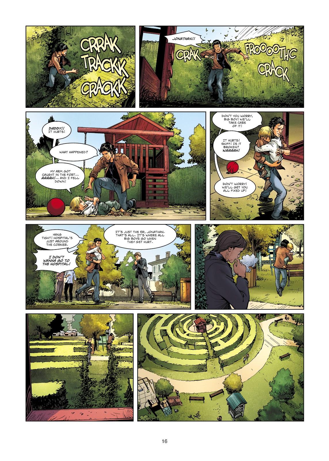 Read online Vigilantes comic -  Issue #4 - 16