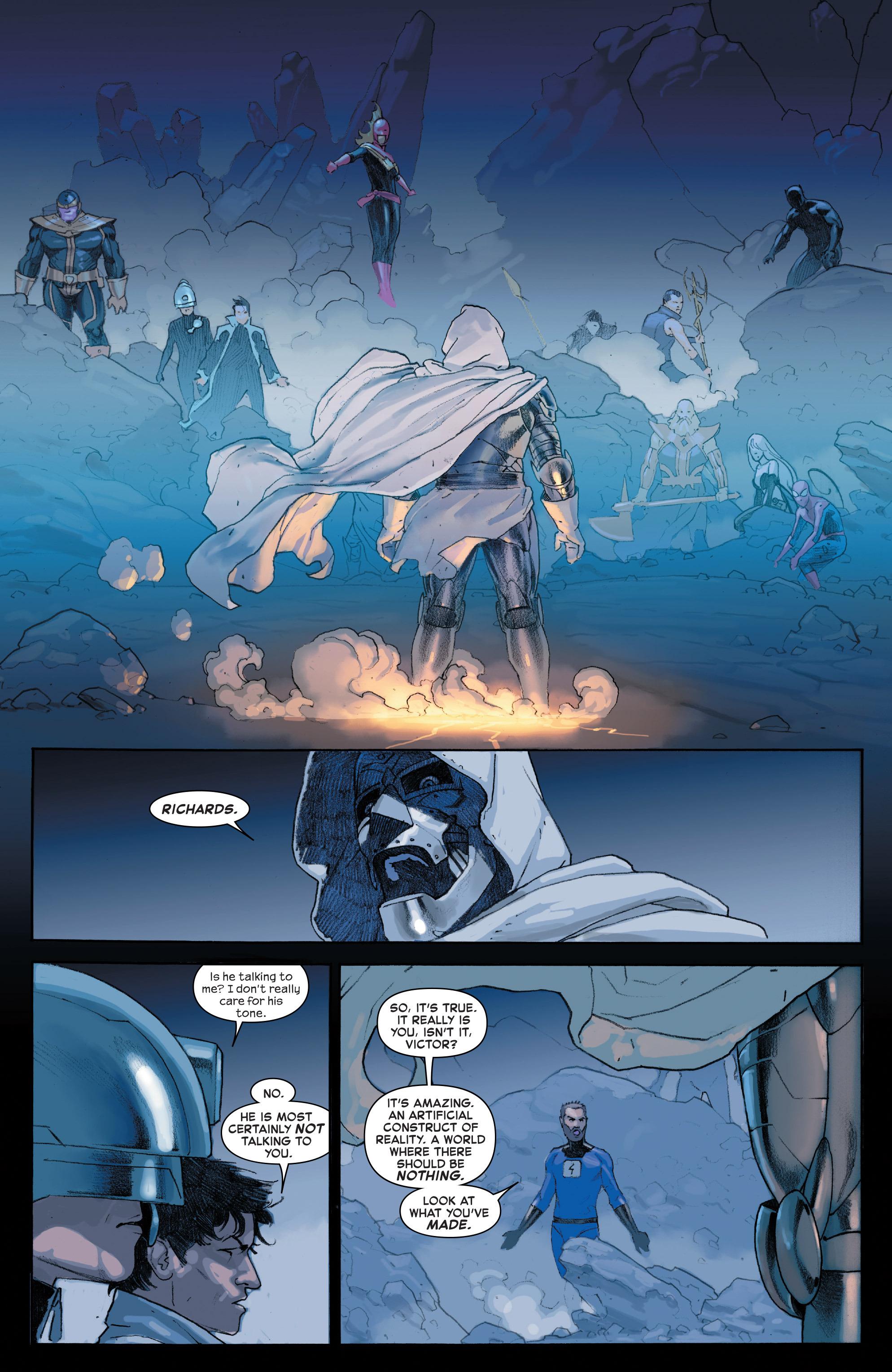 Read online Secret Wars comic -  Issue #4 - 25