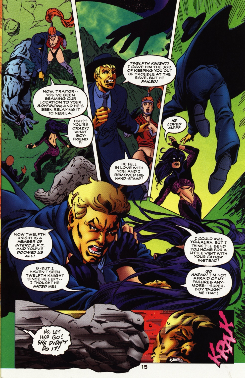 Read online Superboy & The Ravers comic -  Issue #11 - 16