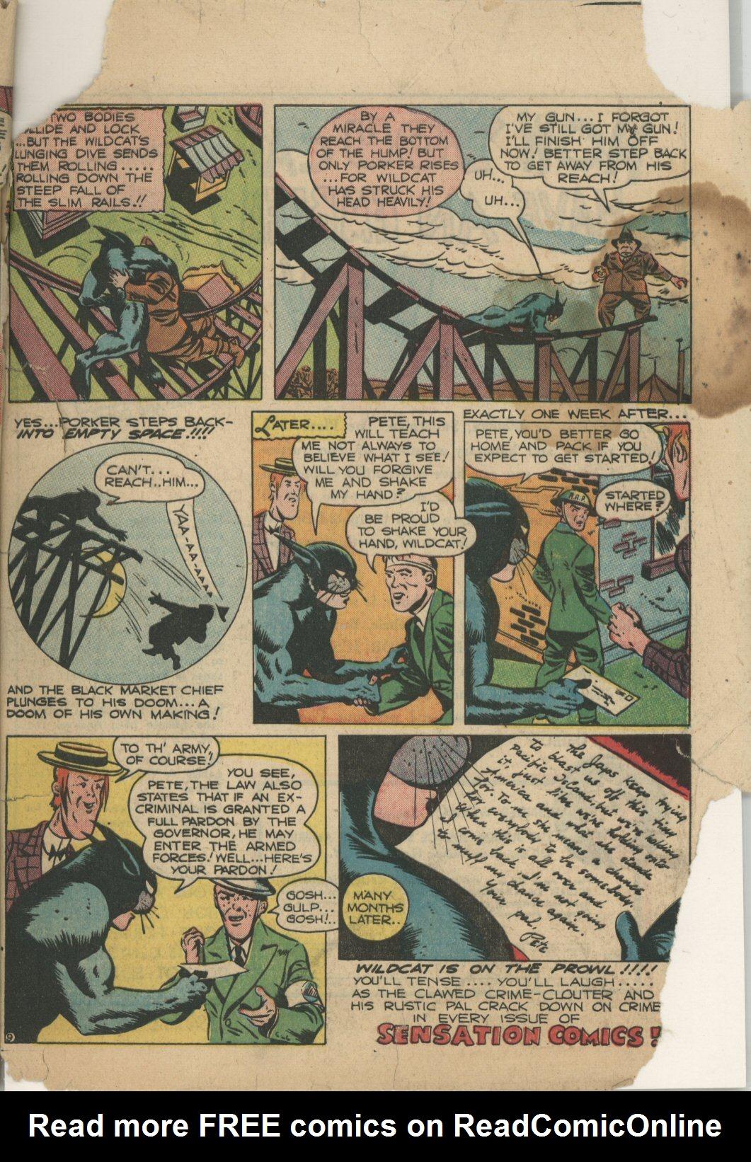 Read online Sensation (Mystery) Comics comic -  Issue #21 - 55