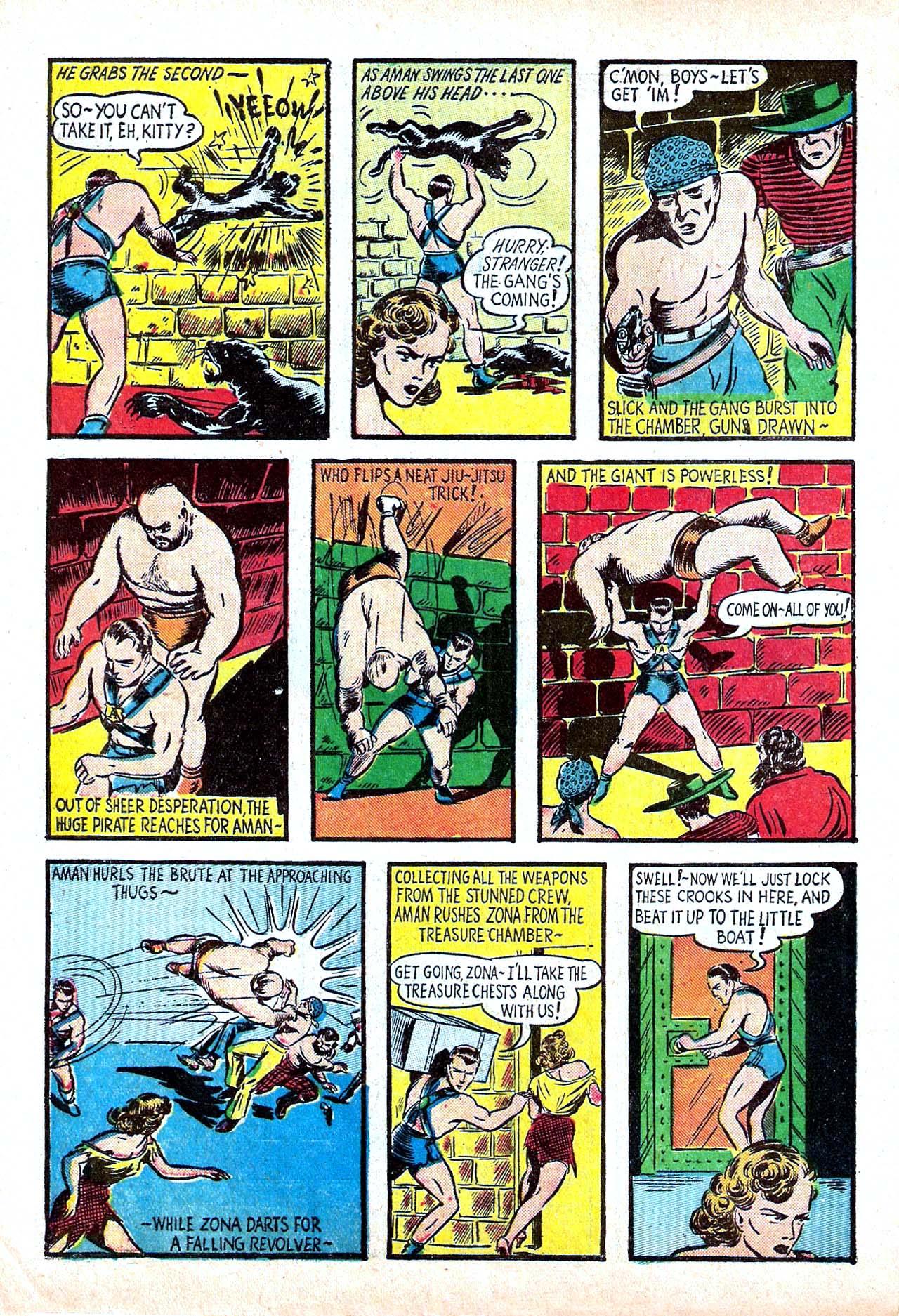 Read online Amazing Man Comics comic -  Issue #11 - 10