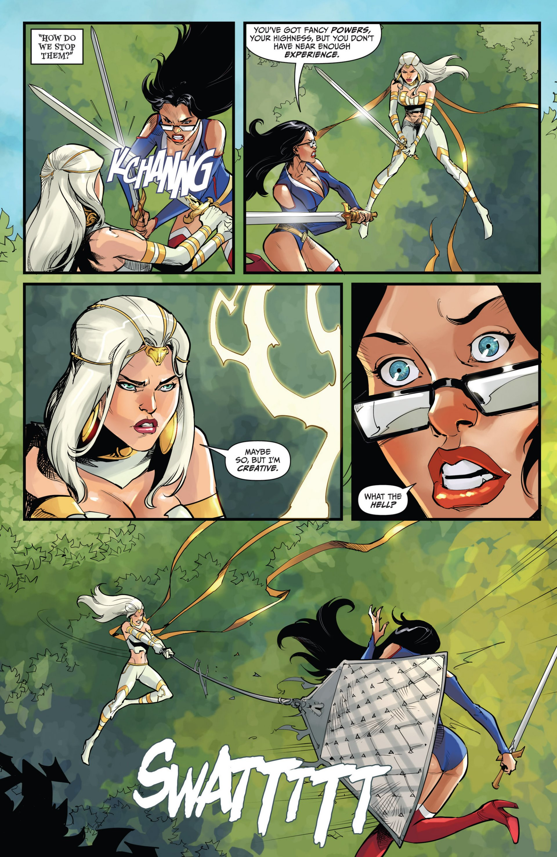 Read online Grimm Fairy Tales vs. Wonderland comic -  Issue #2 - 14