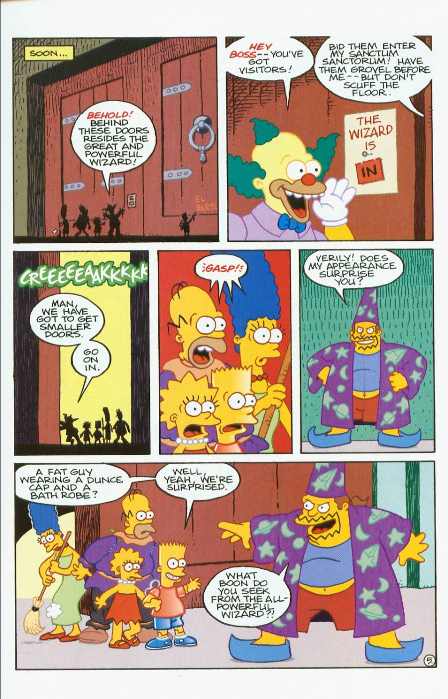 Read online Treehouse of Horror comic -  Issue #7 - 18