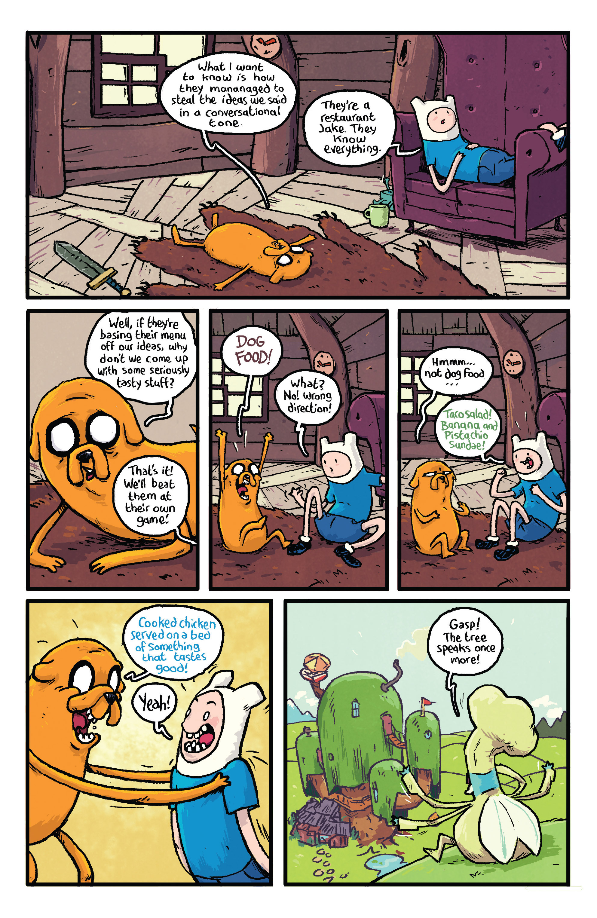 Read online Adventure Time comic -  Issue #29 - 22