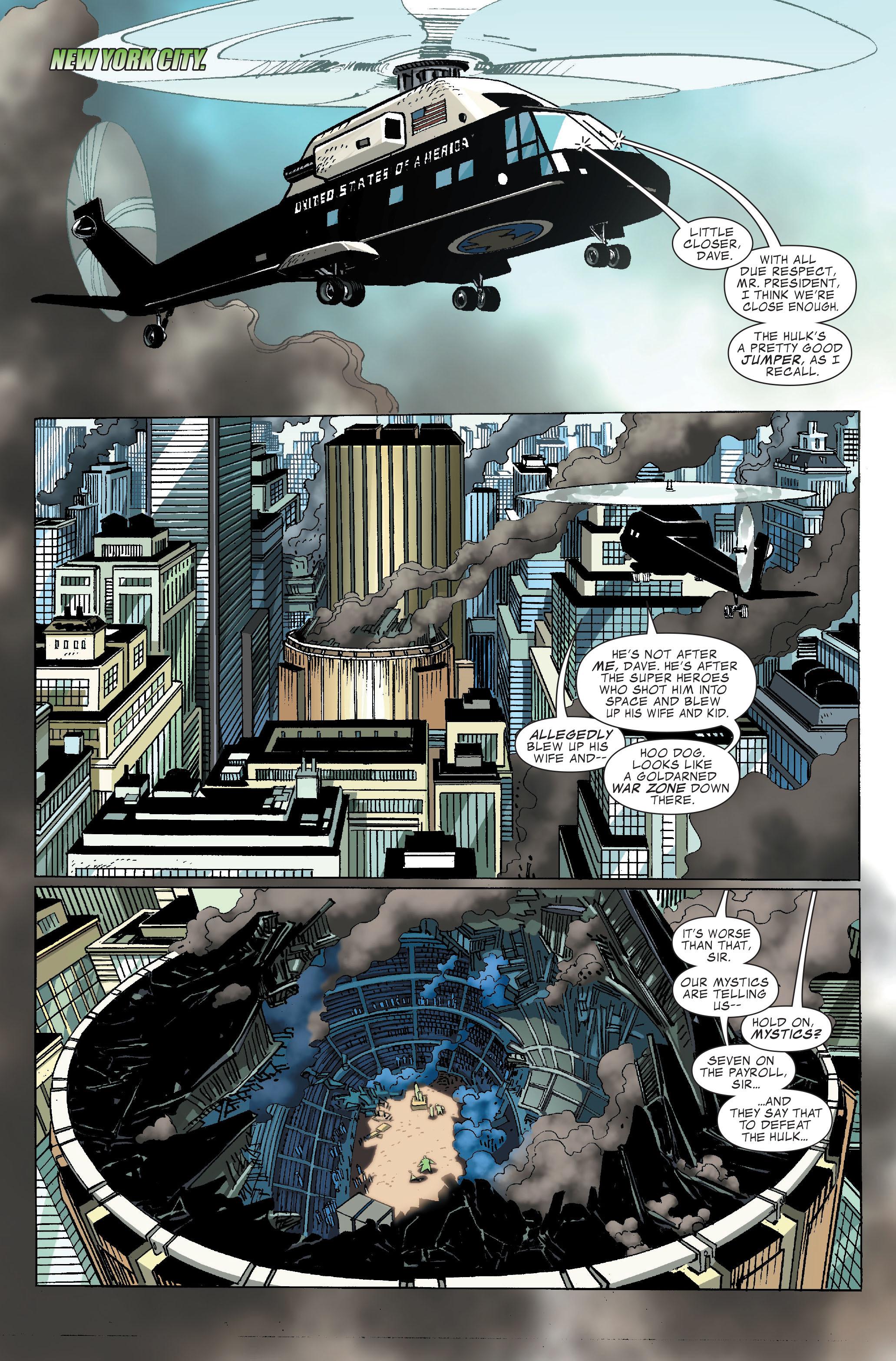 Read online World War Hulk comic -  Issue #4 - 2