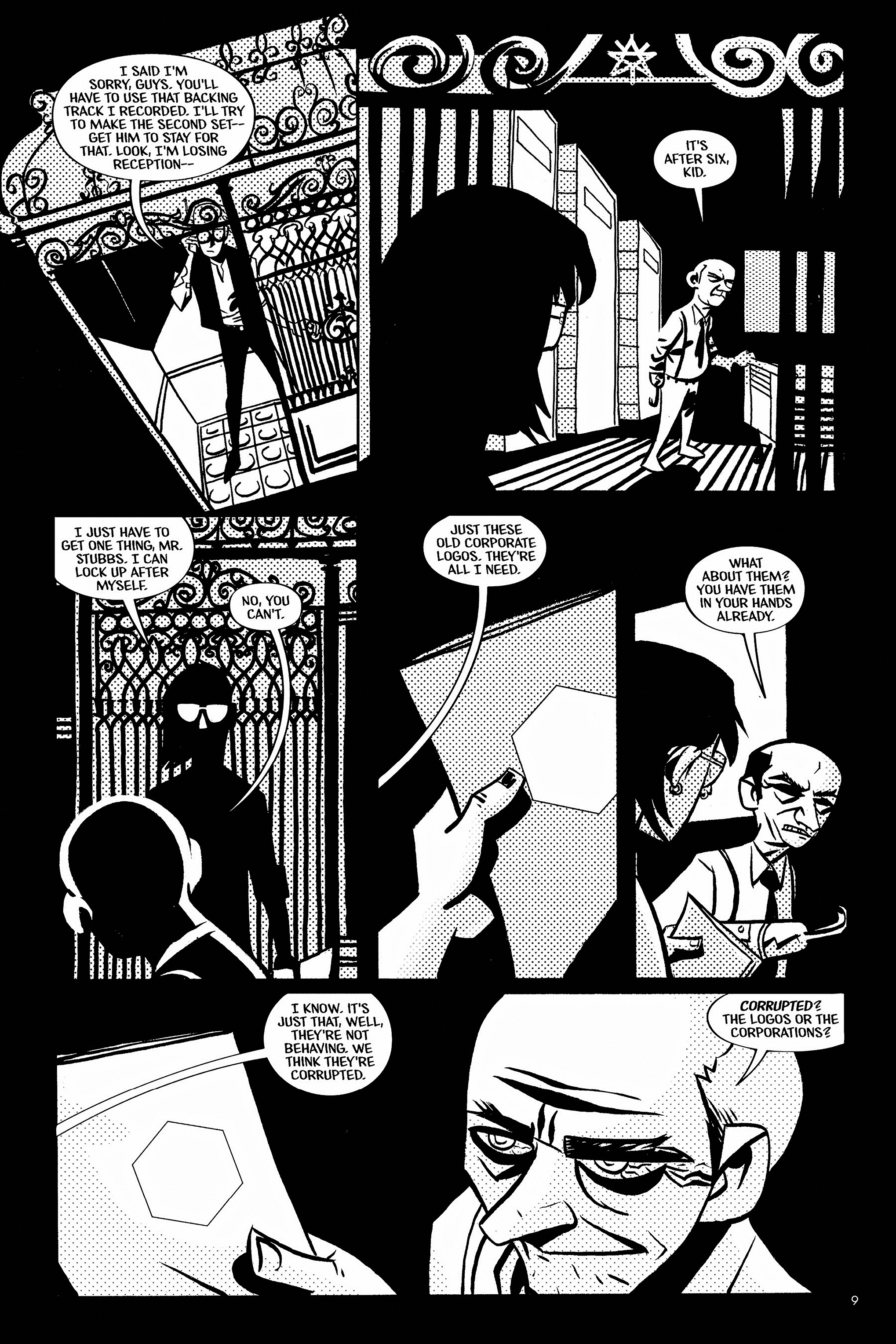 Read online Aleister & Adolf comic -  Issue # TPB - 9