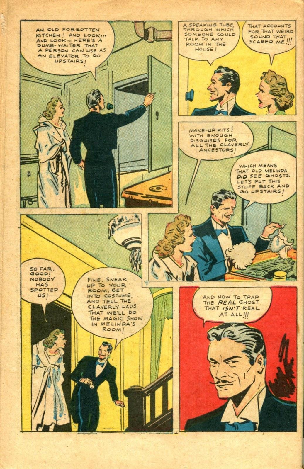 Read online Super-Magician Comics comic -  Issue #48 - 48