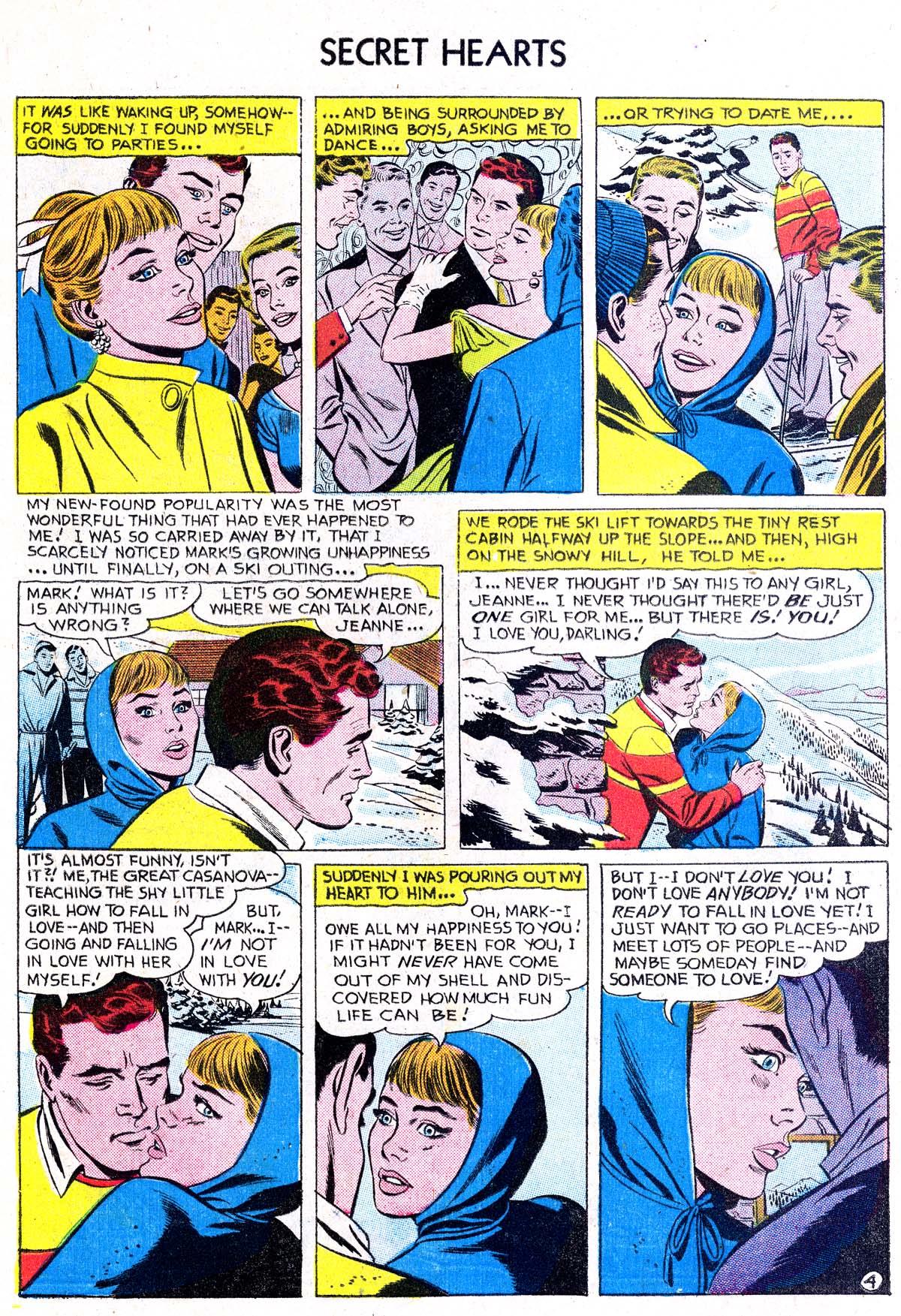 Read online Secret Hearts comic -  Issue #38 - 6