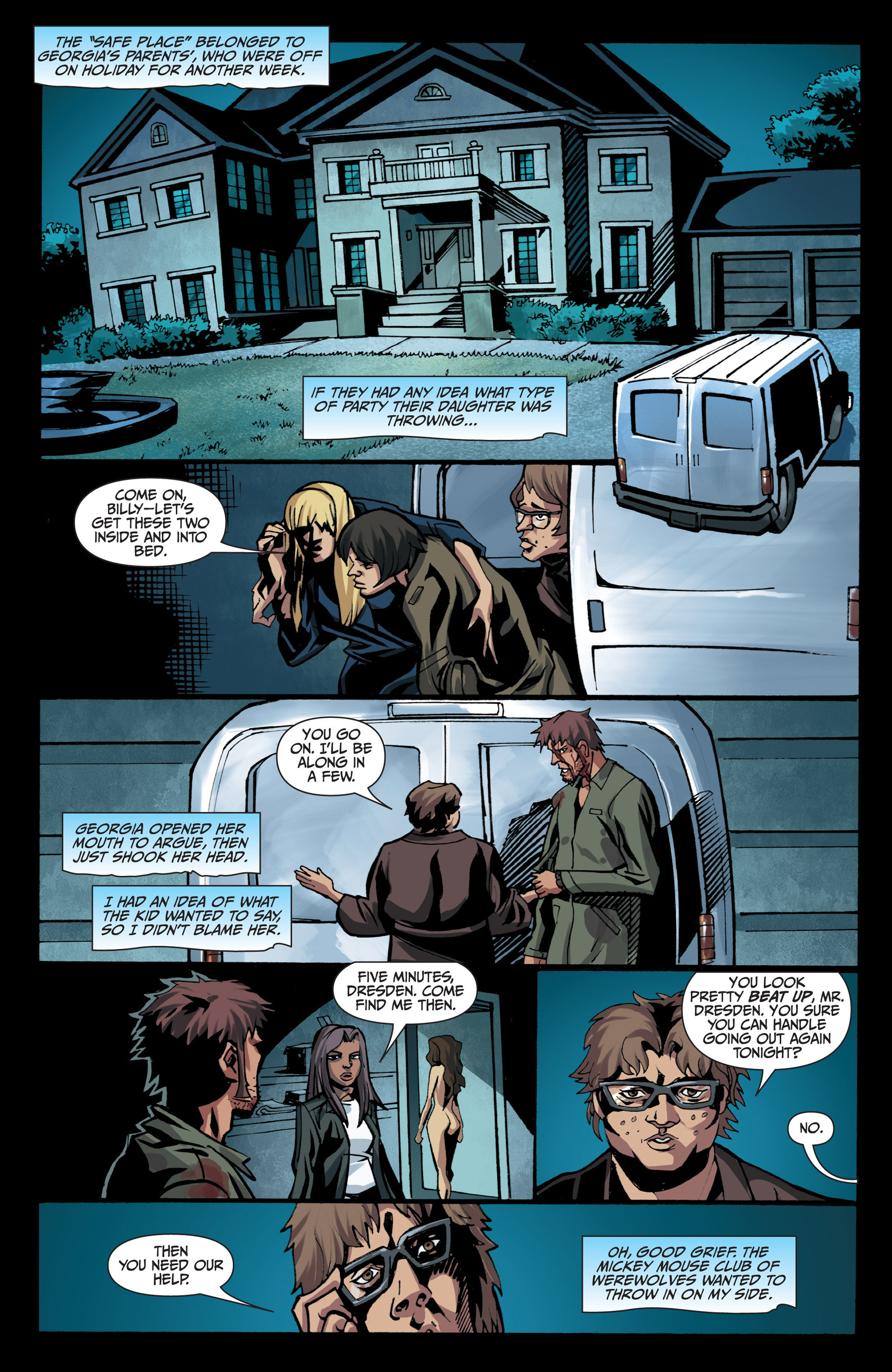 Read online Jim Butcher's The Dresden Files: Fool Moon comic -  Issue #7 - 15