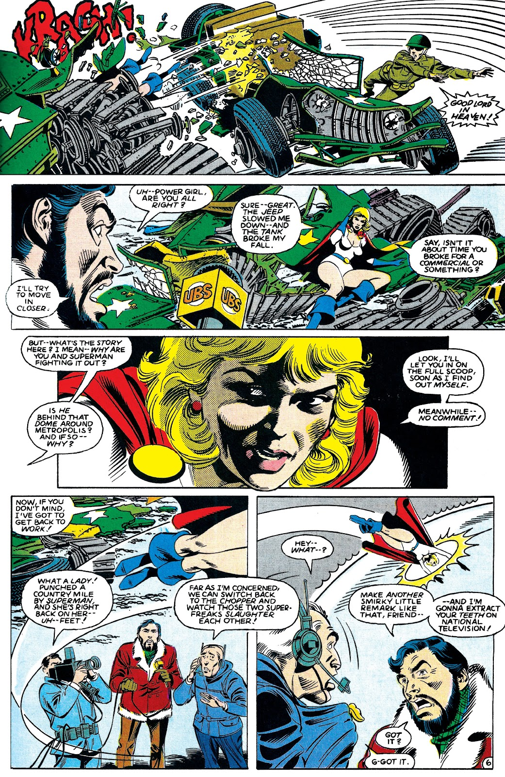 Infinity Inc. (1984) issue 7 - Page 6
