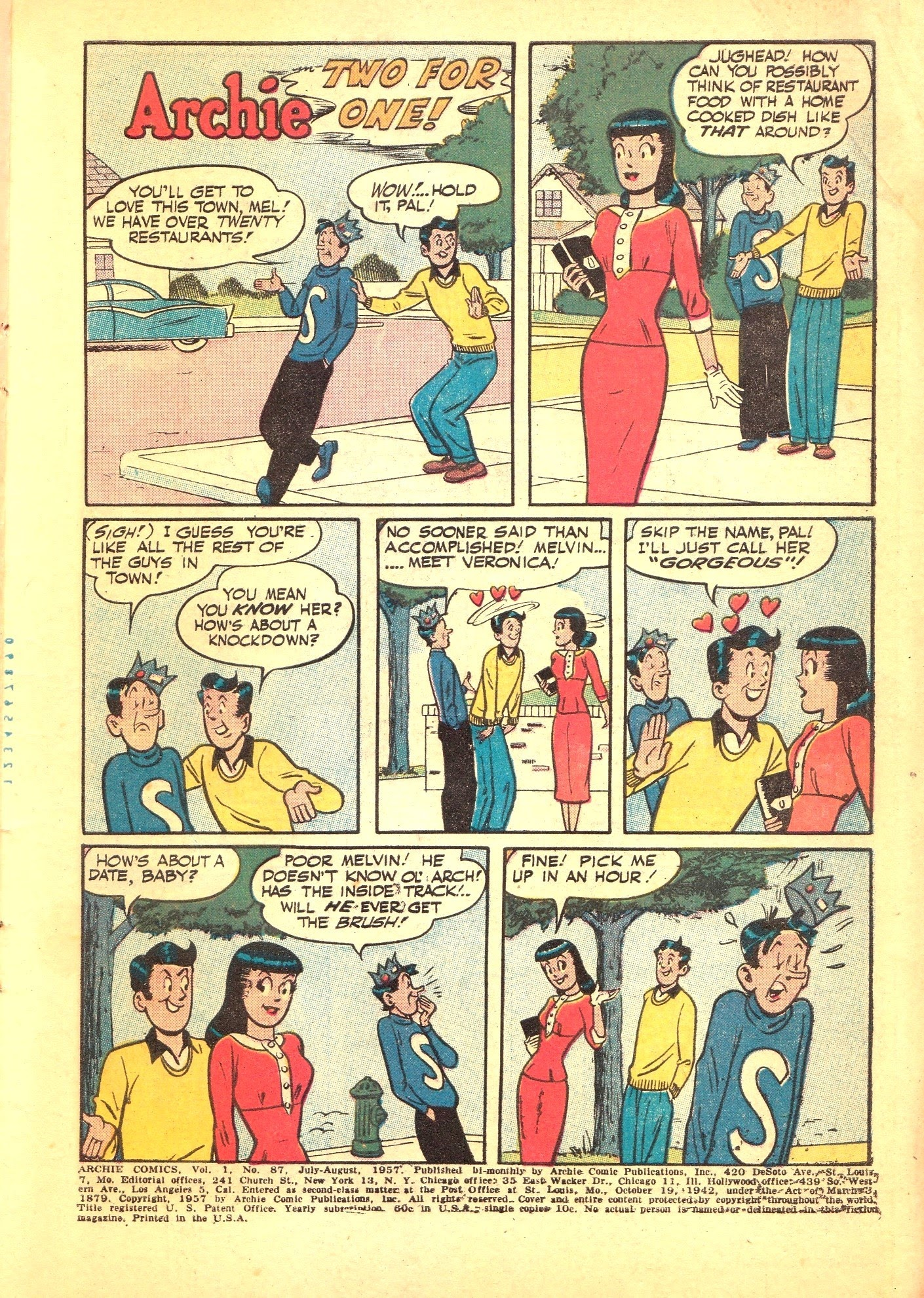 Archie Comics issue 087 - Page 3