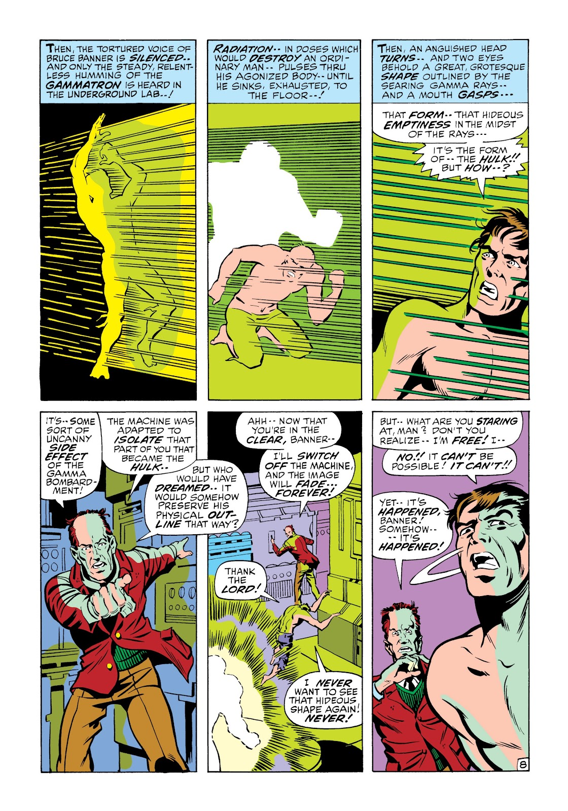 Read online Marvel Masterworks: The Incredible Hulk comic -  Issue # TPB 6 (Part 2) - 82