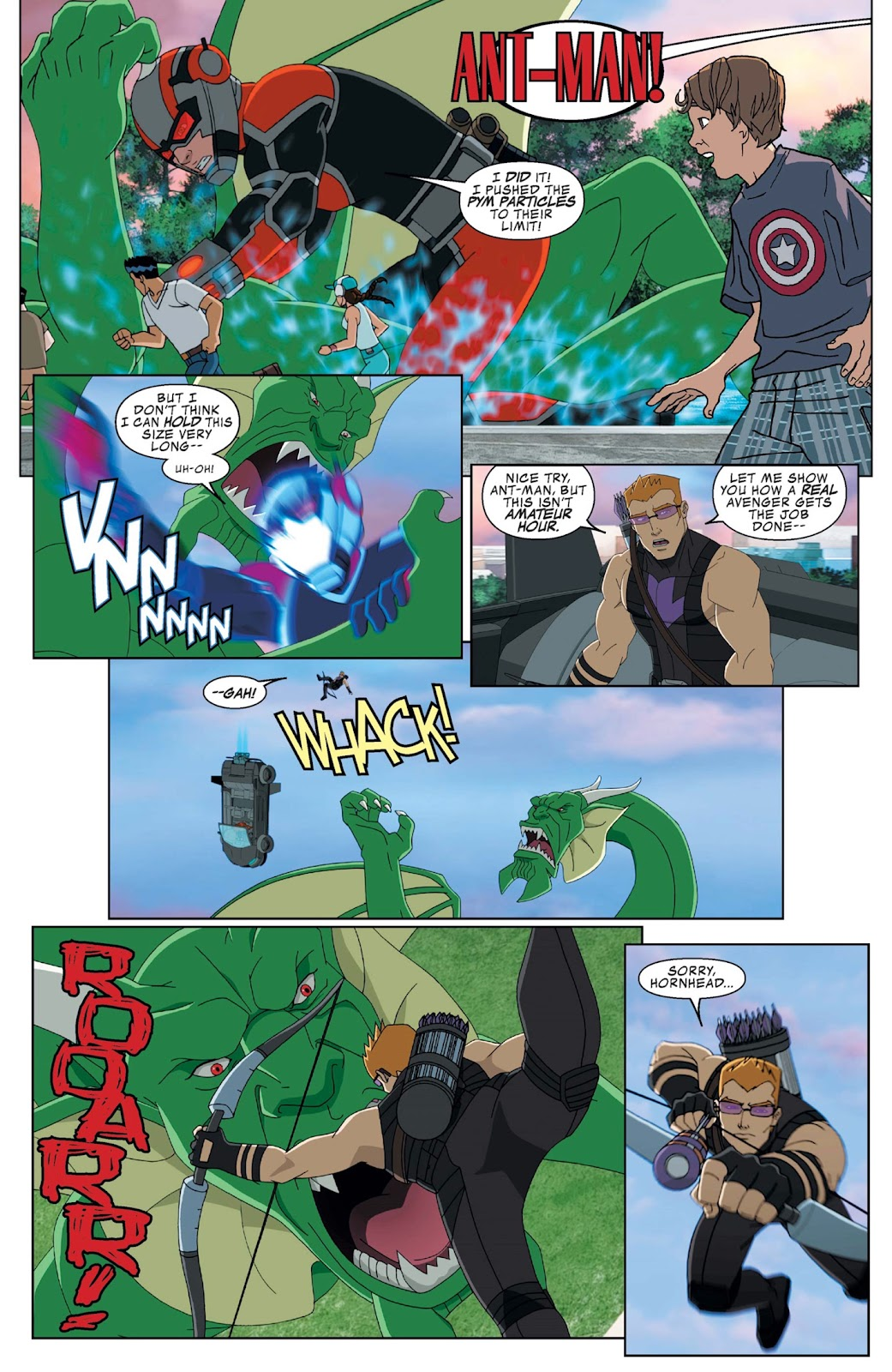 Read online Marvel Universe Avengers Assemble Season 2 comic -  Issue #9 - 4