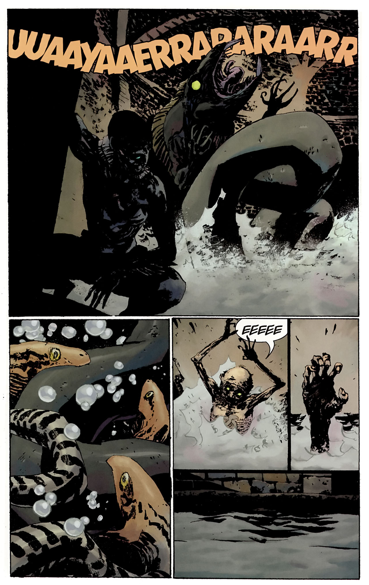Read online Abe Sapien: The Drowning comic -  Issue #3 - 21