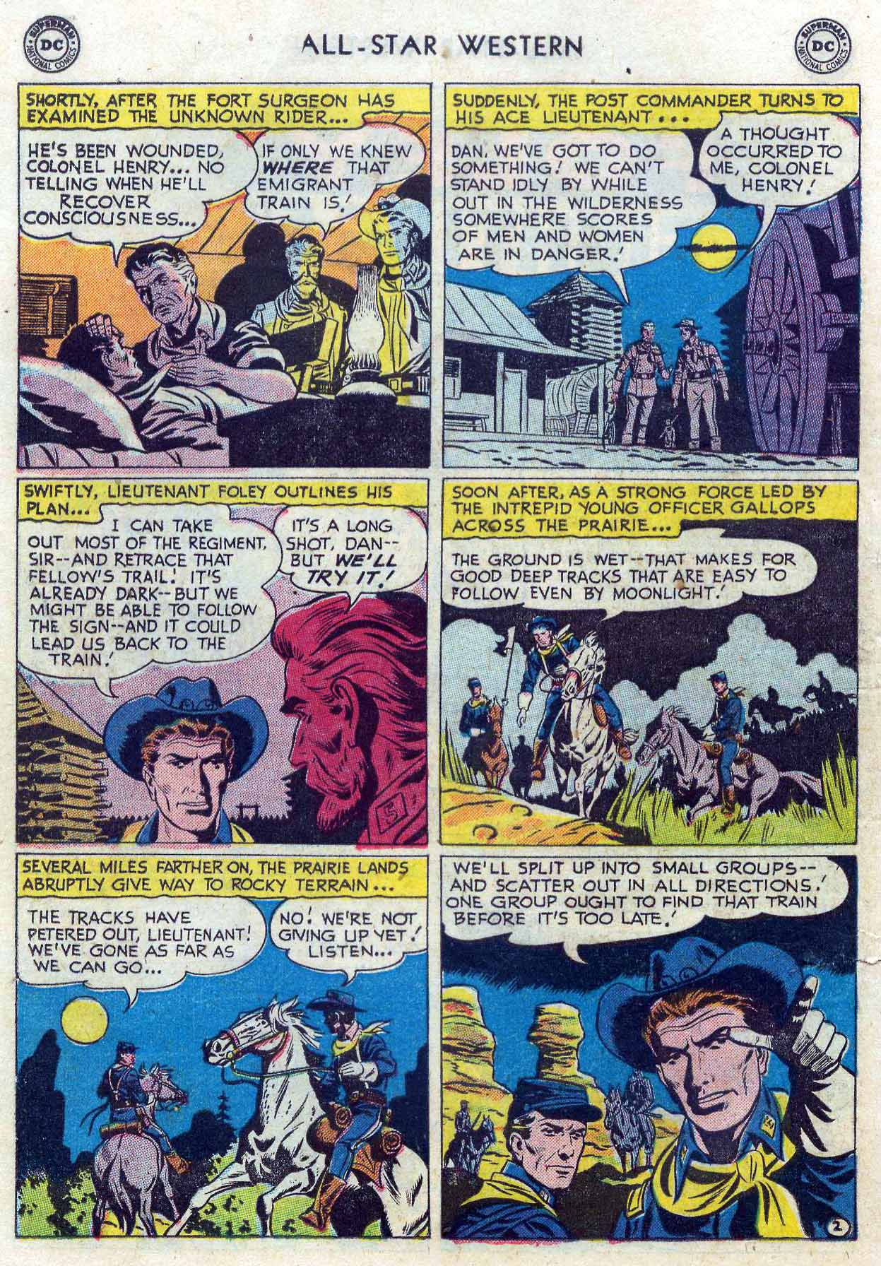 Read online All-Star Western (1951) comic -  Issue #85 - 20