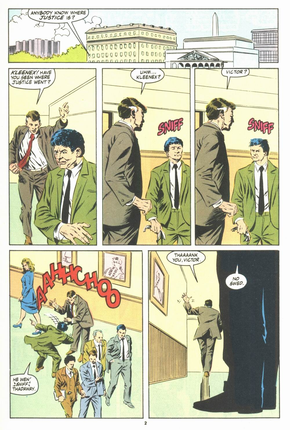 Read online Justice (1986) comic -  Issue #23 - 4