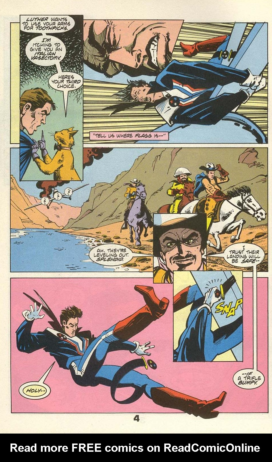 Read online American Flagg! comic -  Issue #36 - 6